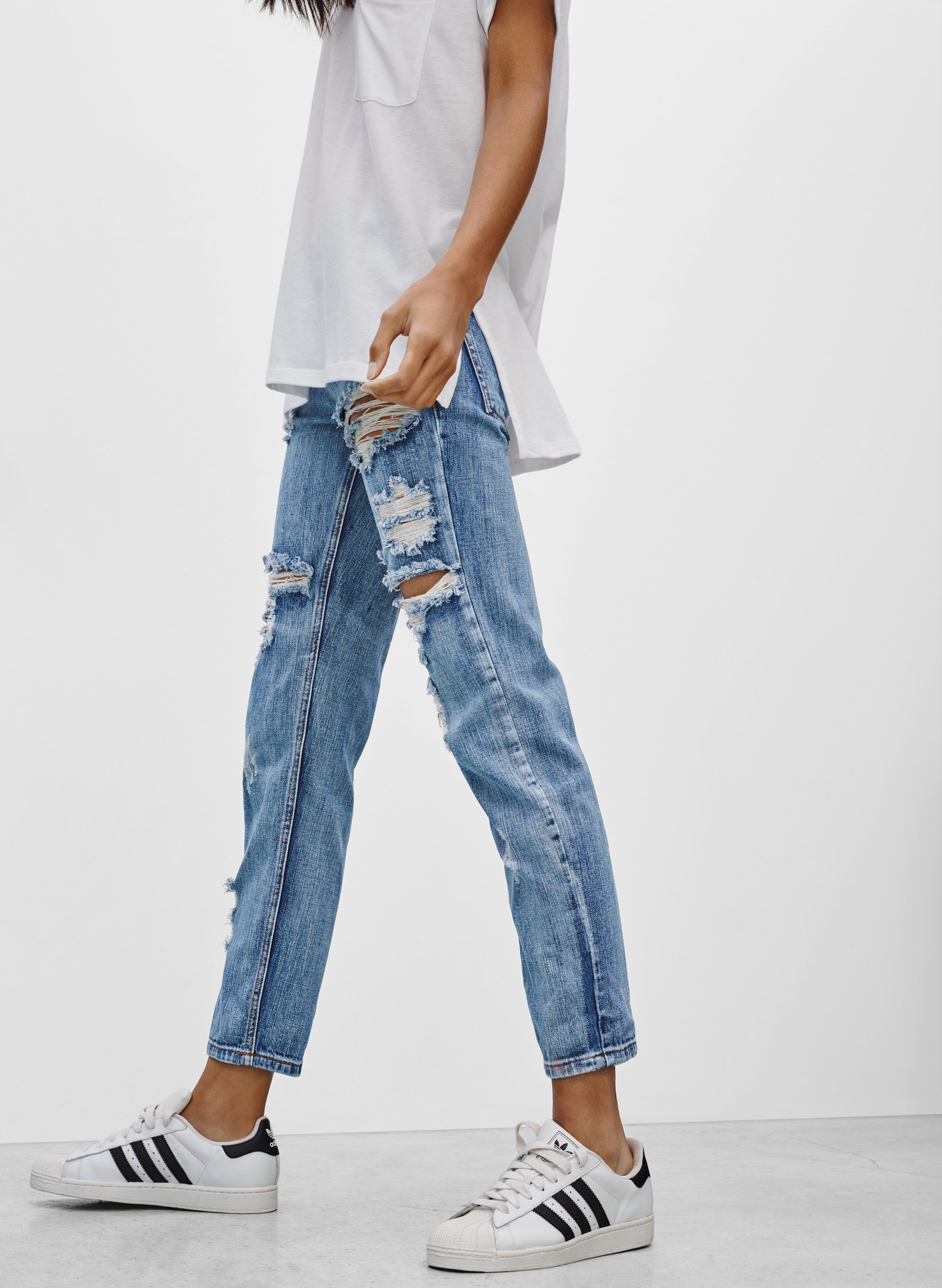 Awesome Baggies High Waist Jean. - size 25 (also in 22,23,24,26,27,28) One Teaspoon