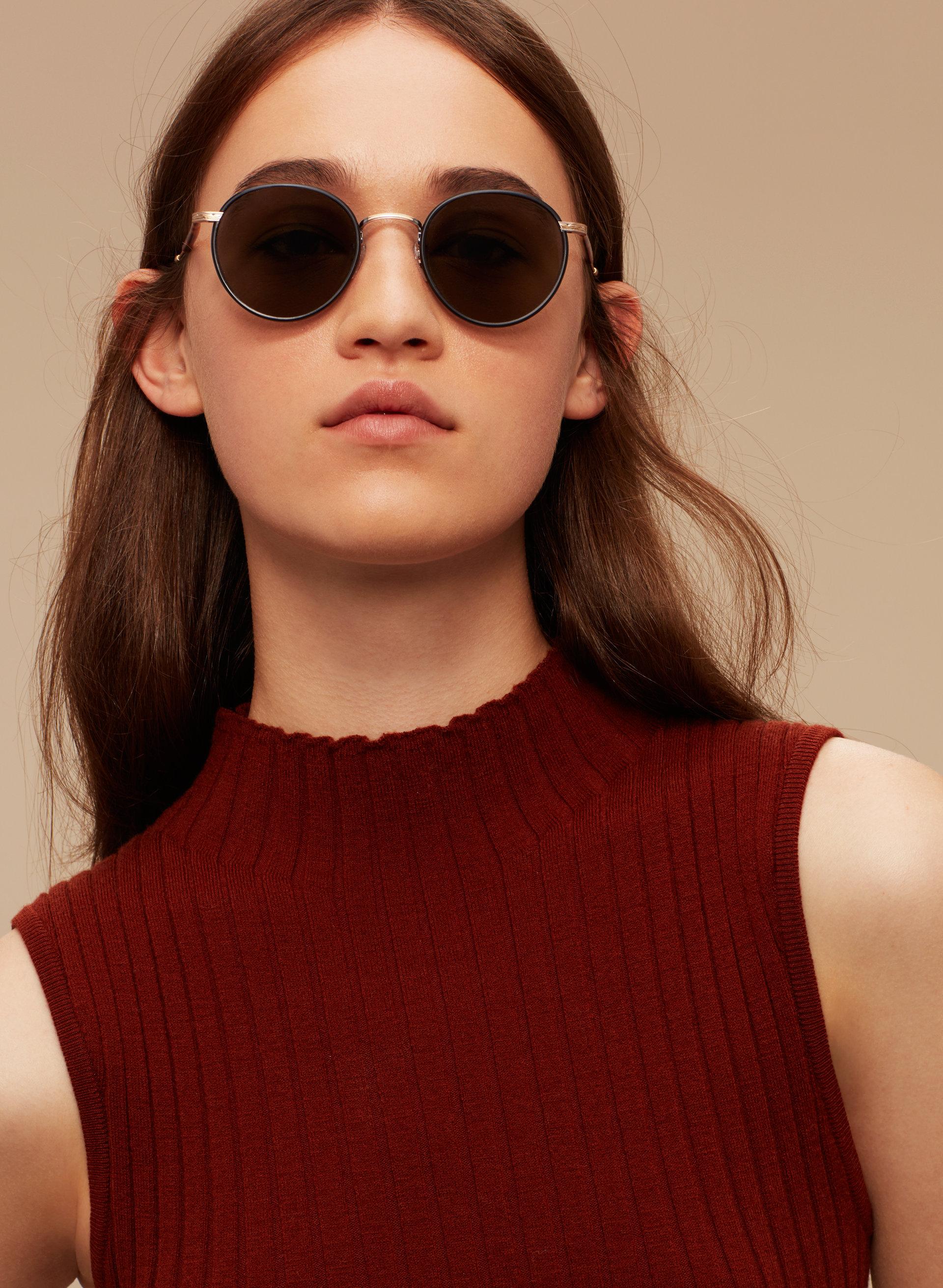 Garrett Leight Wilson round glasses Buy Cheap Sast QjYhPX1
