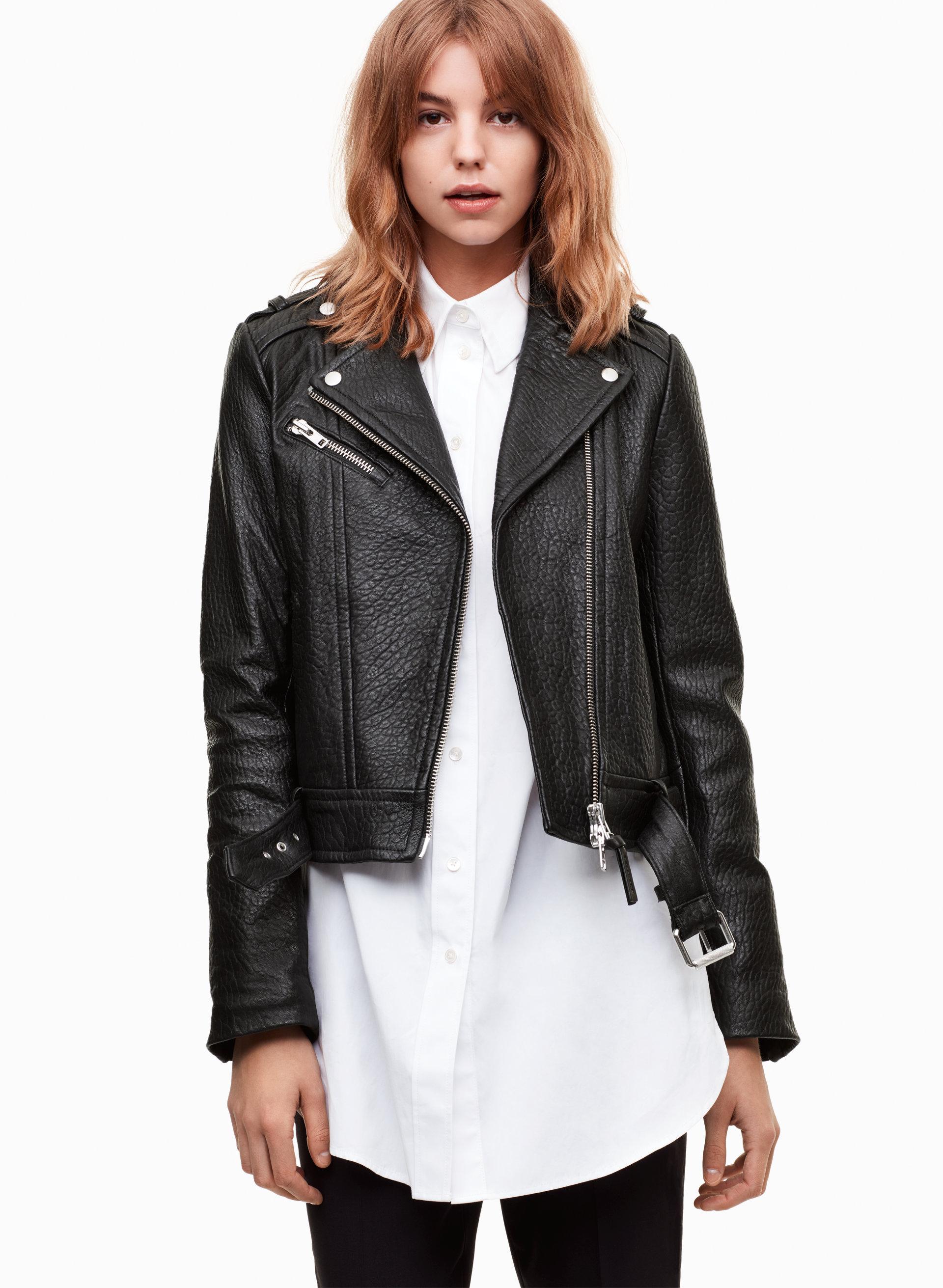 Mackage leather jacket