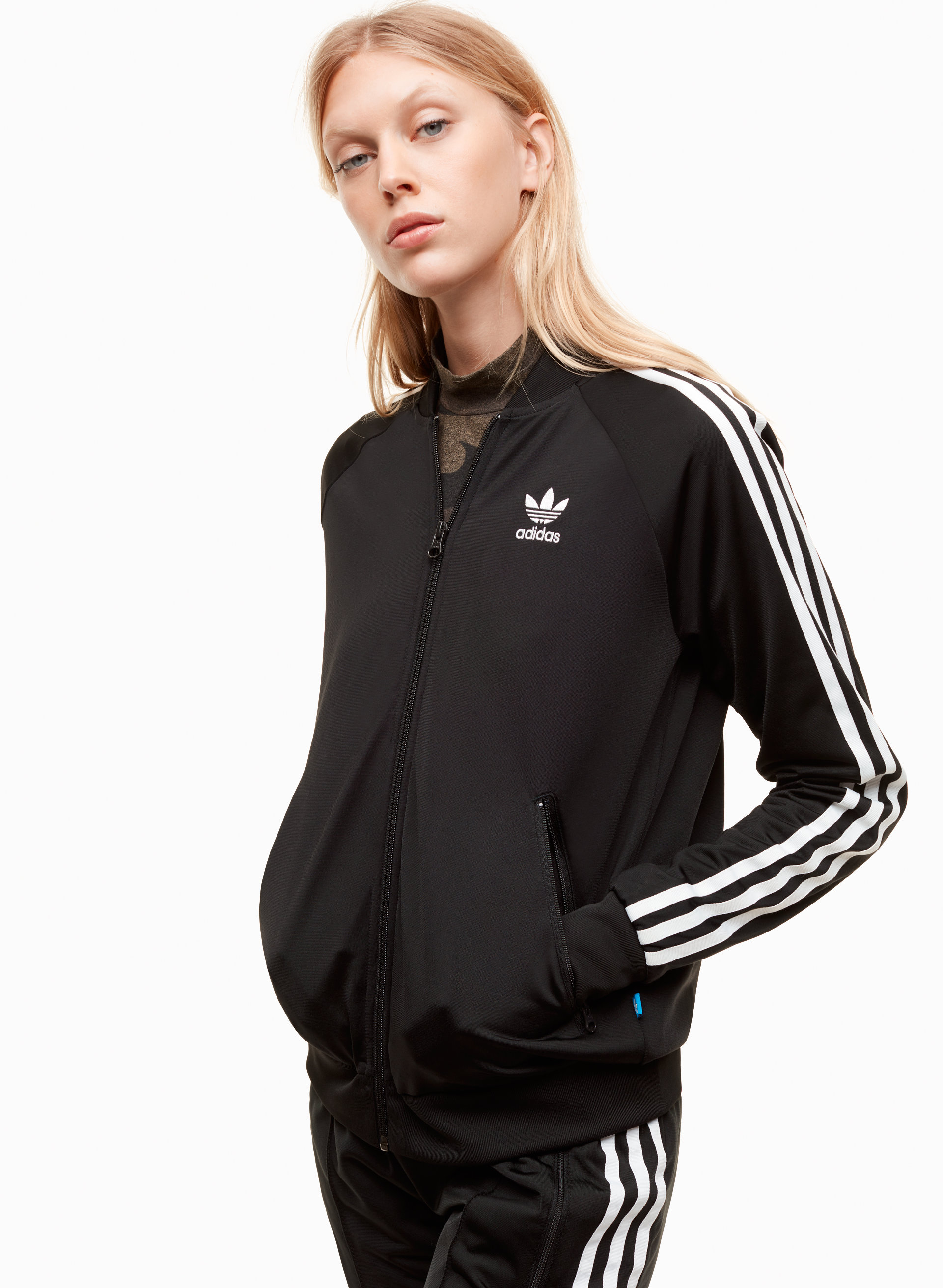 best sneakers 08b7f e36cb adidas SUPERGIRL TRACK JACKET   Aritzia ...
