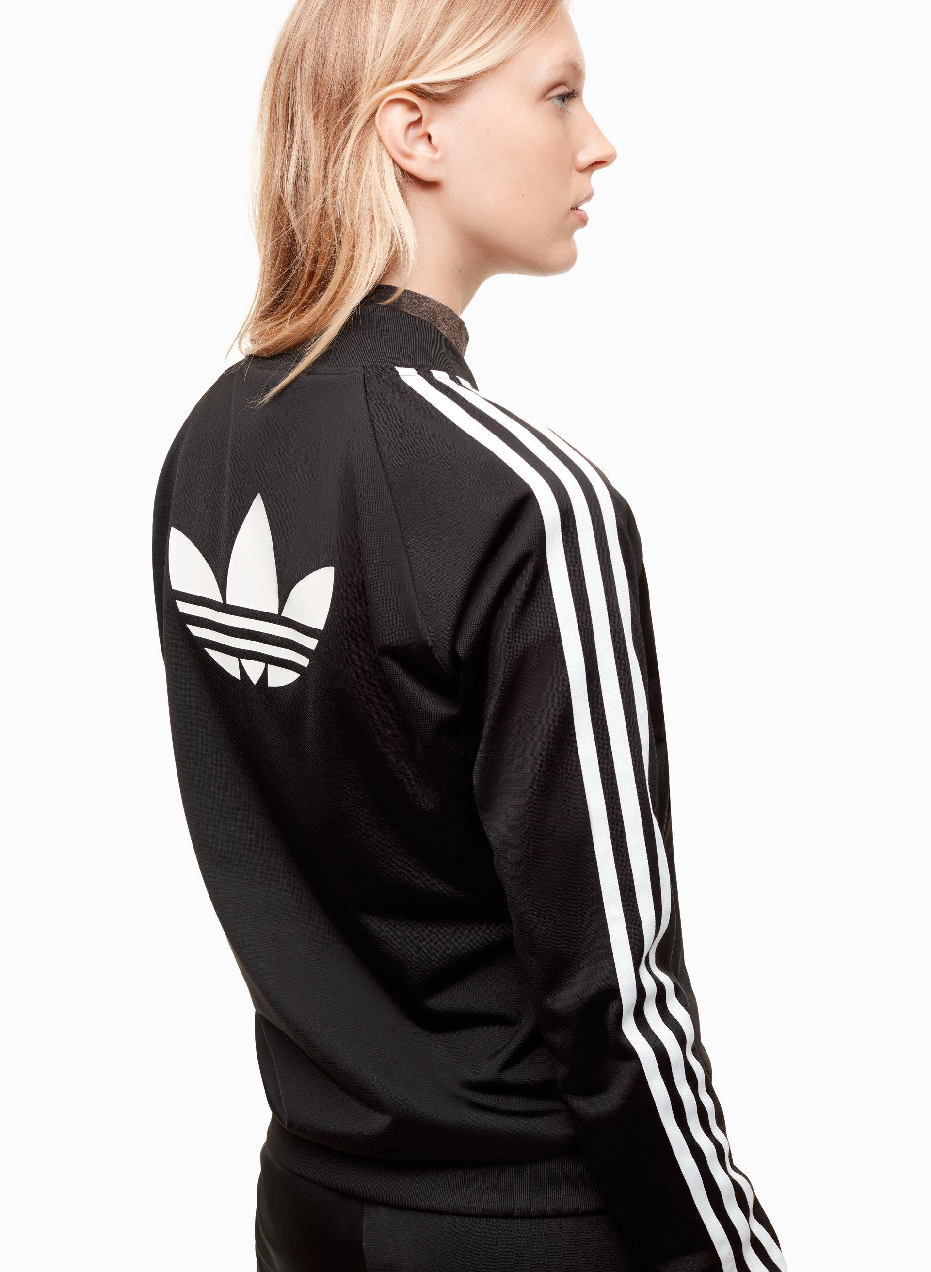 adidas women's supergirl track jacket