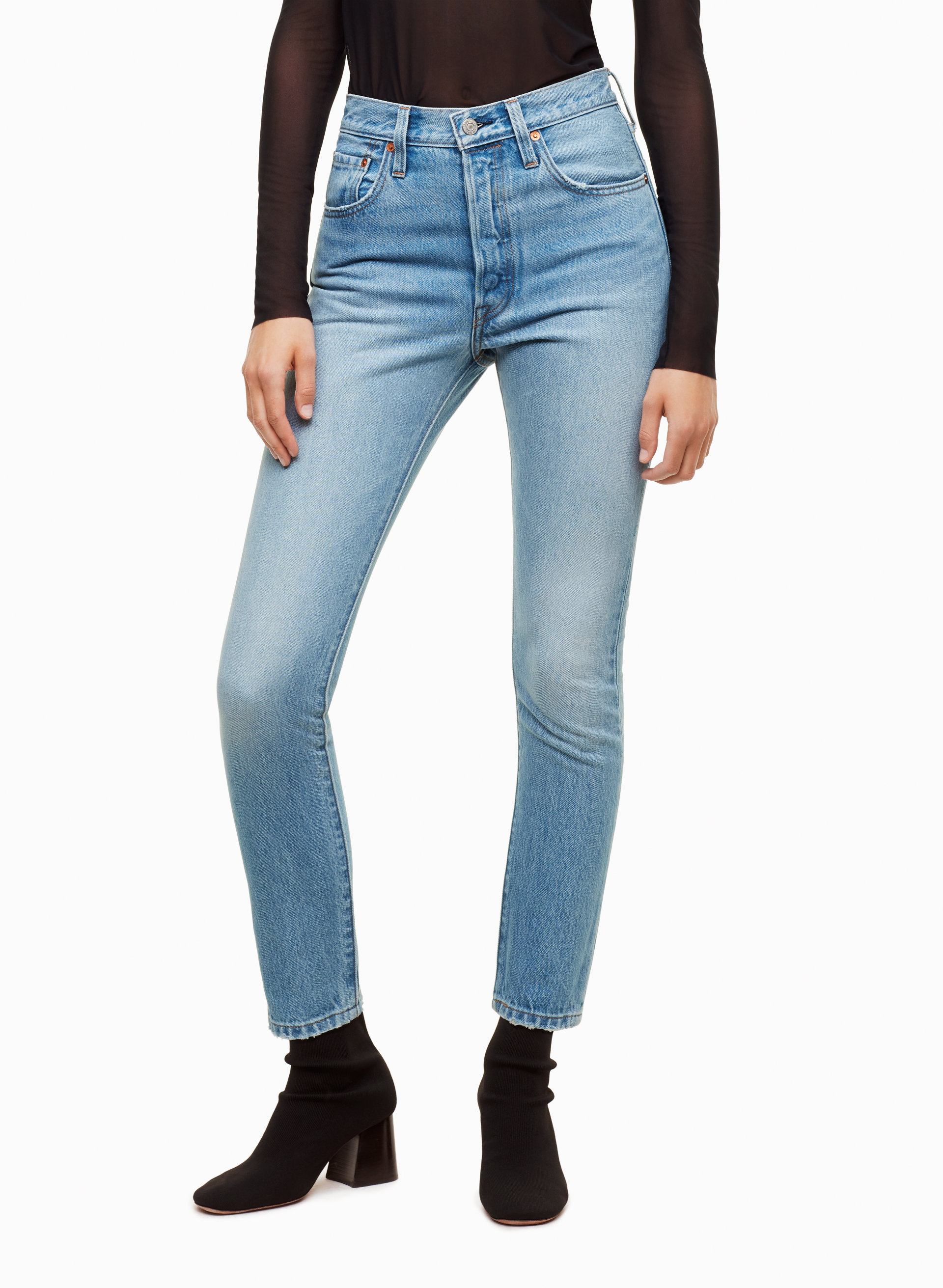 501 Skinny. 501 Maigre. - Size 27 (also In 28,29,30,31) Levi's - Taille 27 (également 28,29,30,31) Levi's