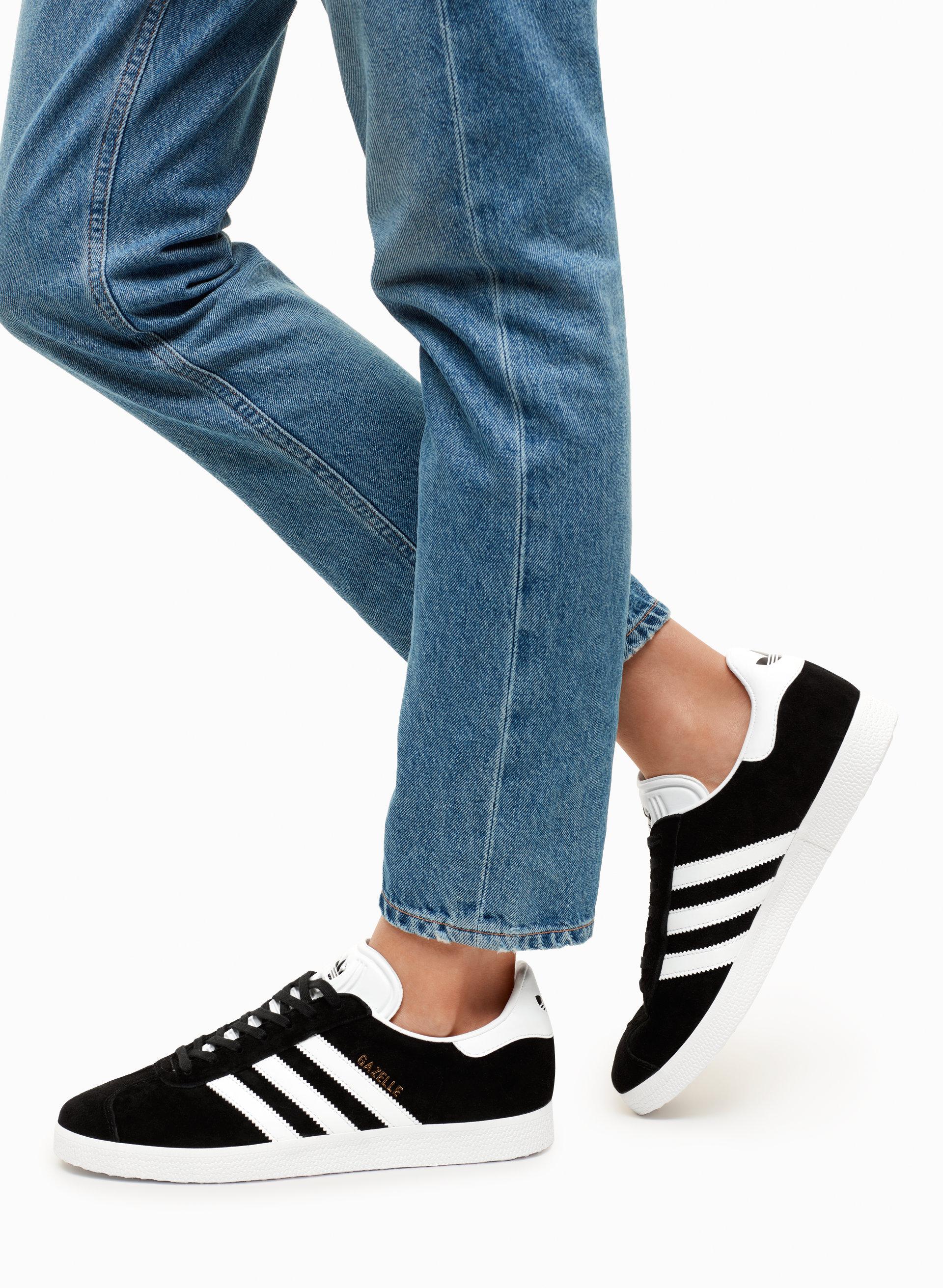 adidas gazelle without socks