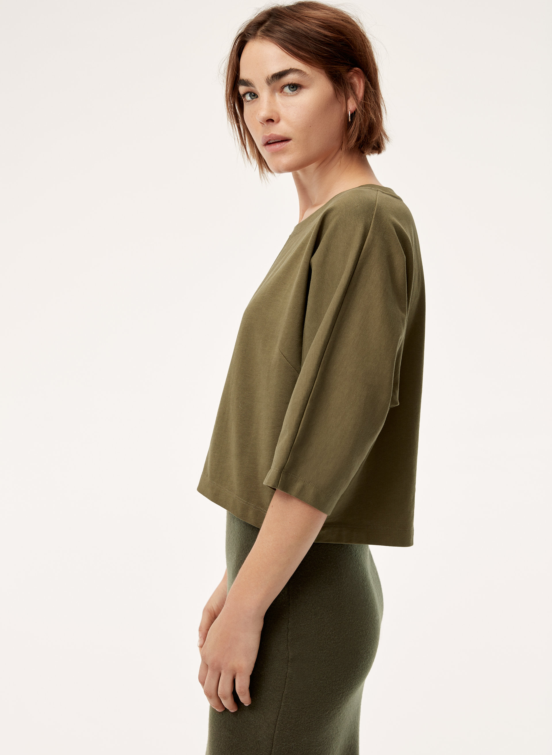 2eb460b2286b46 3 Reasons Members Are Addicted Source · The Group by Babaton ROSIE CROPPED TOP  Aritzia CA