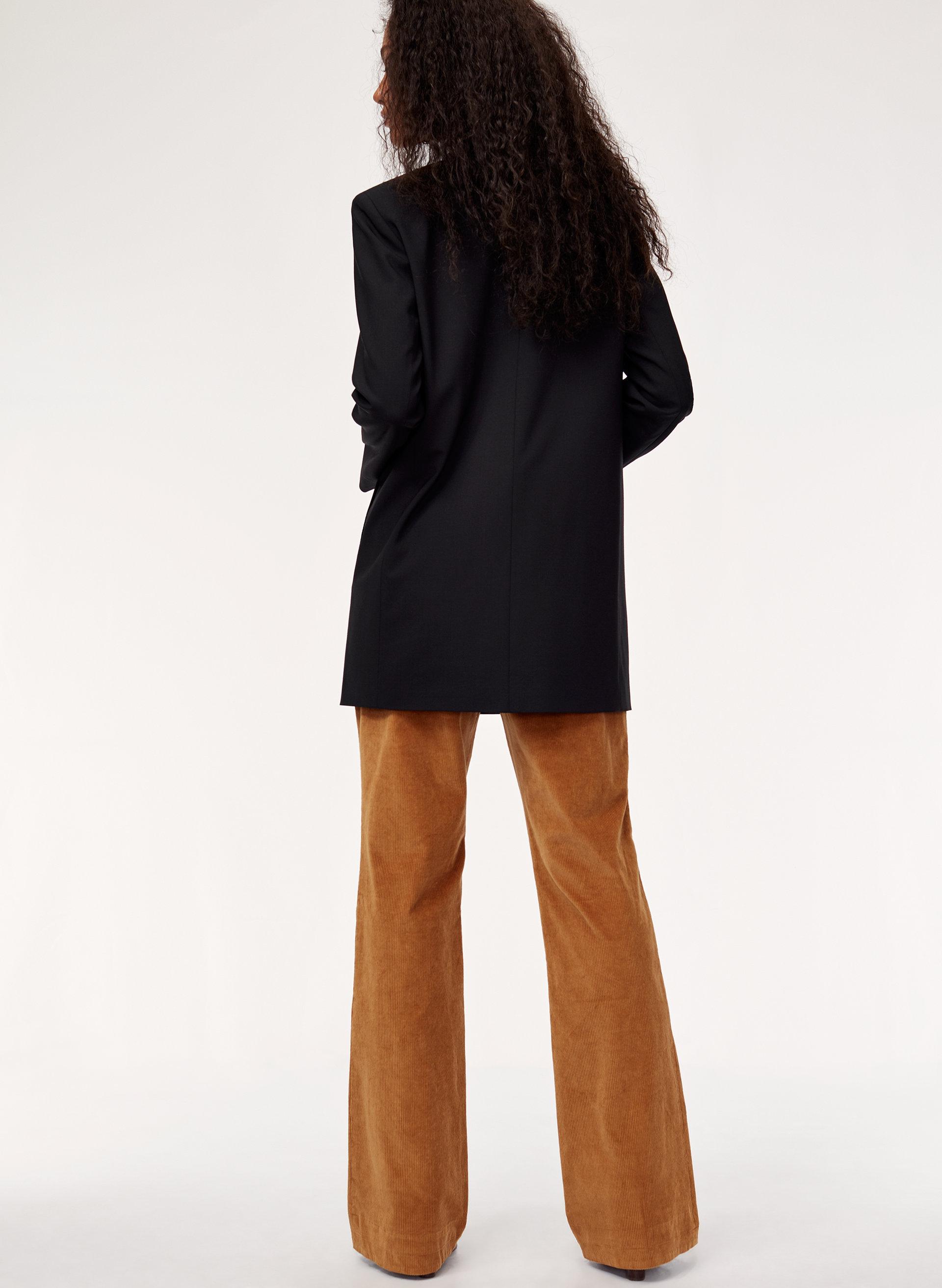 e56d767c3e JOEY PANT - High-waisted flared corduroy pant