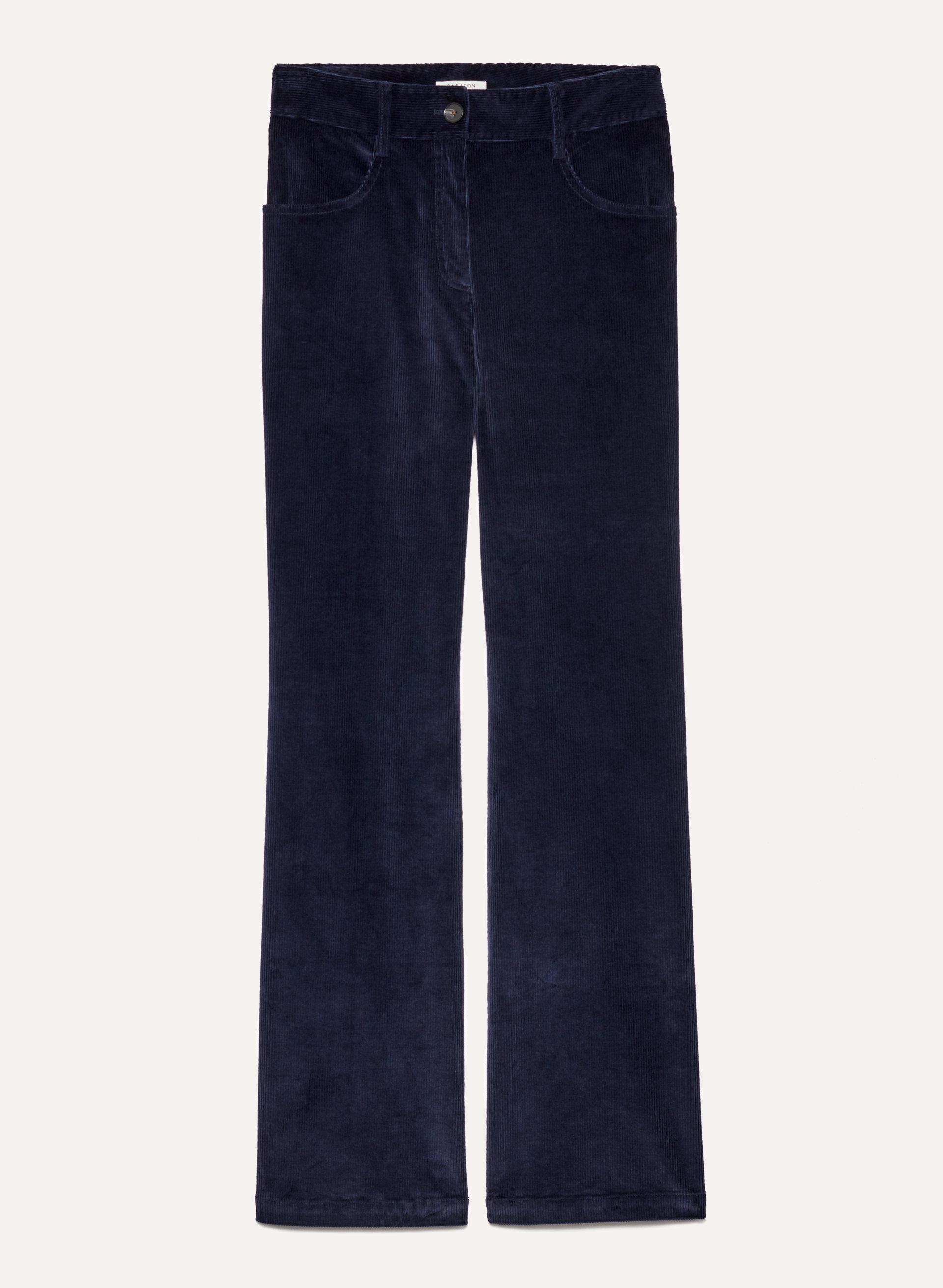 6e94a55057 joey pant High-waisted flared corduroy pant