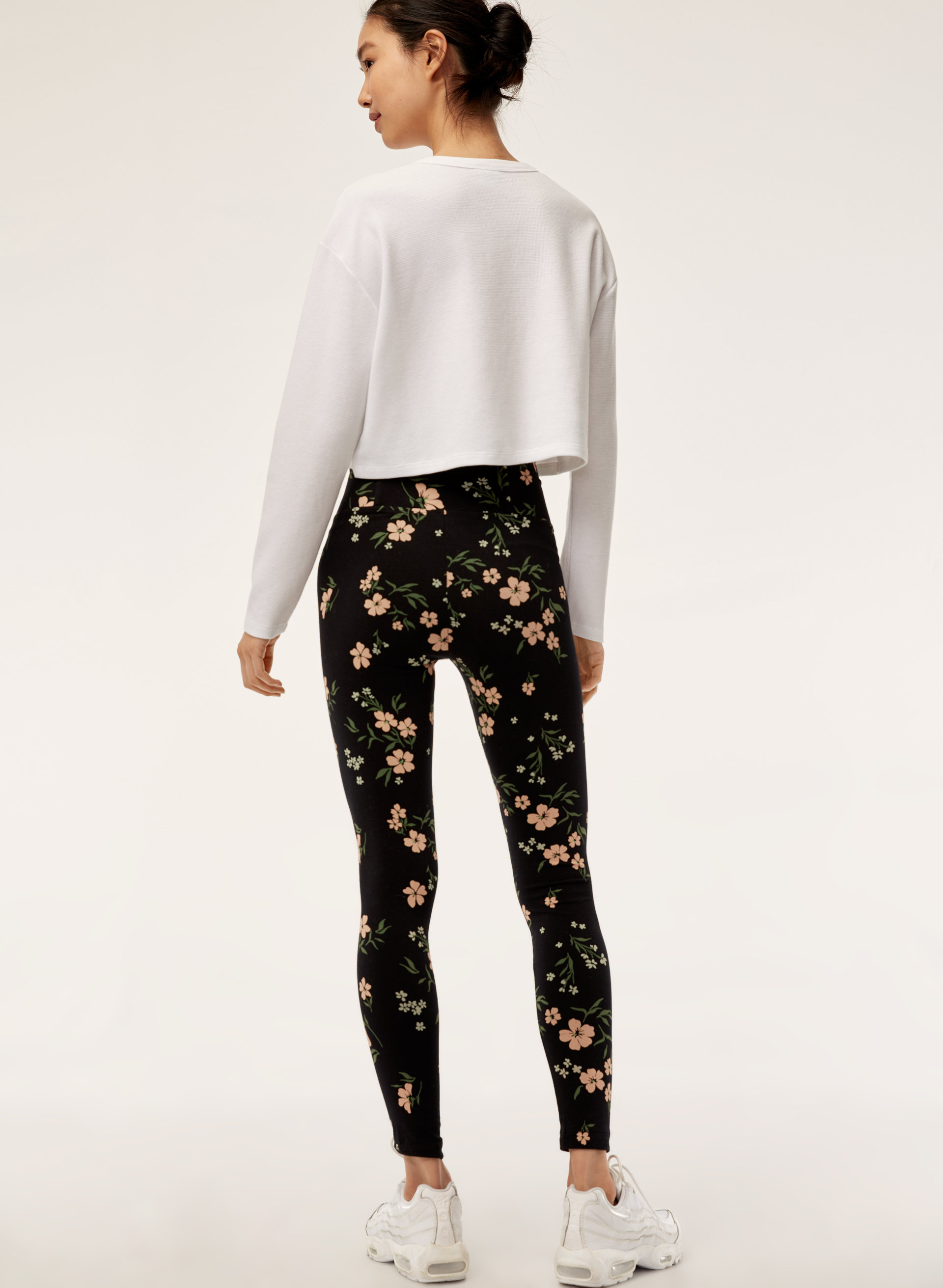 31b2417467a3cd MULLALY LEGGING - High-waisted floral legging