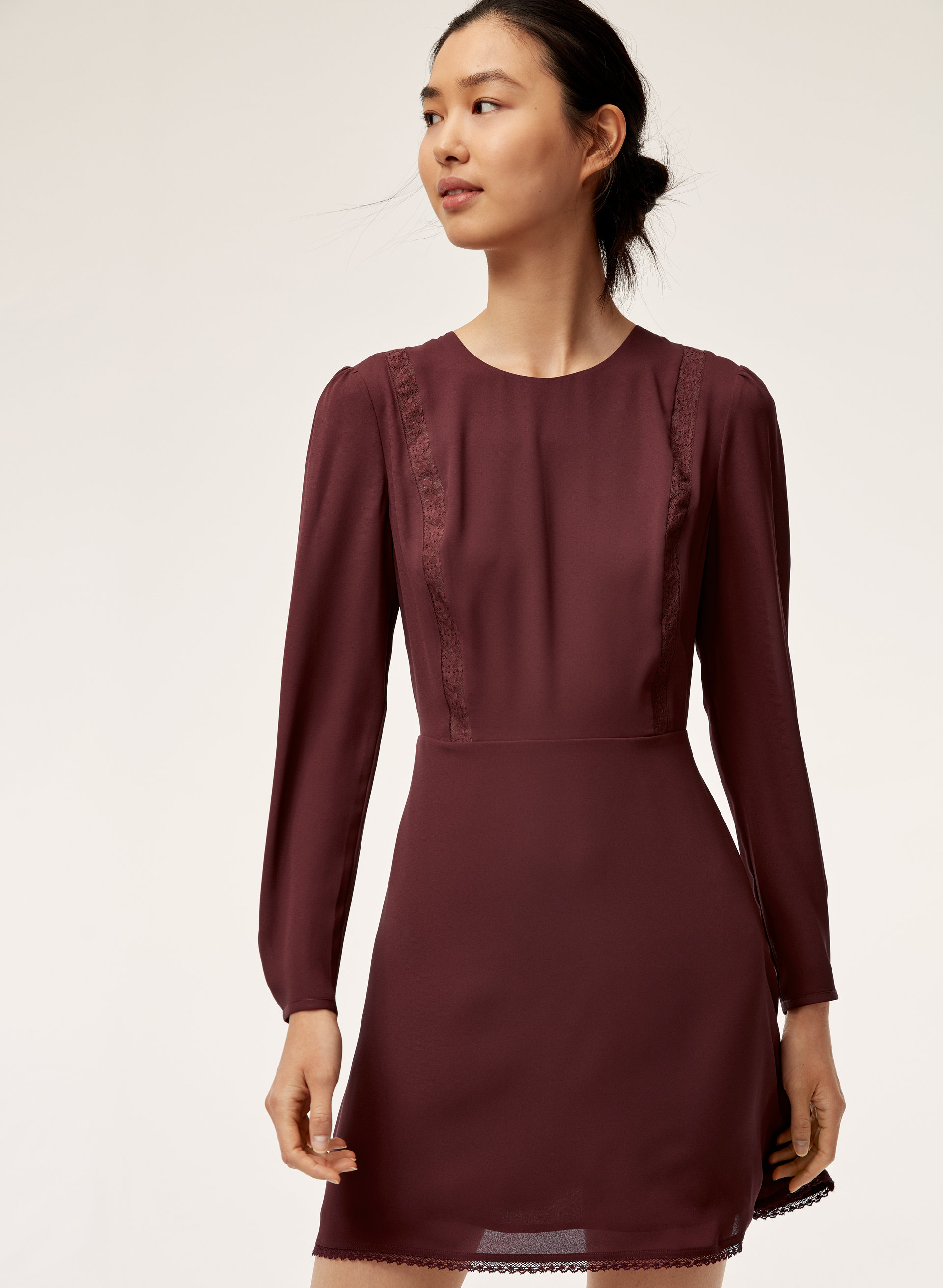 58e4f0afff4 austen dress Long-sleeve, fit-and-flare dress