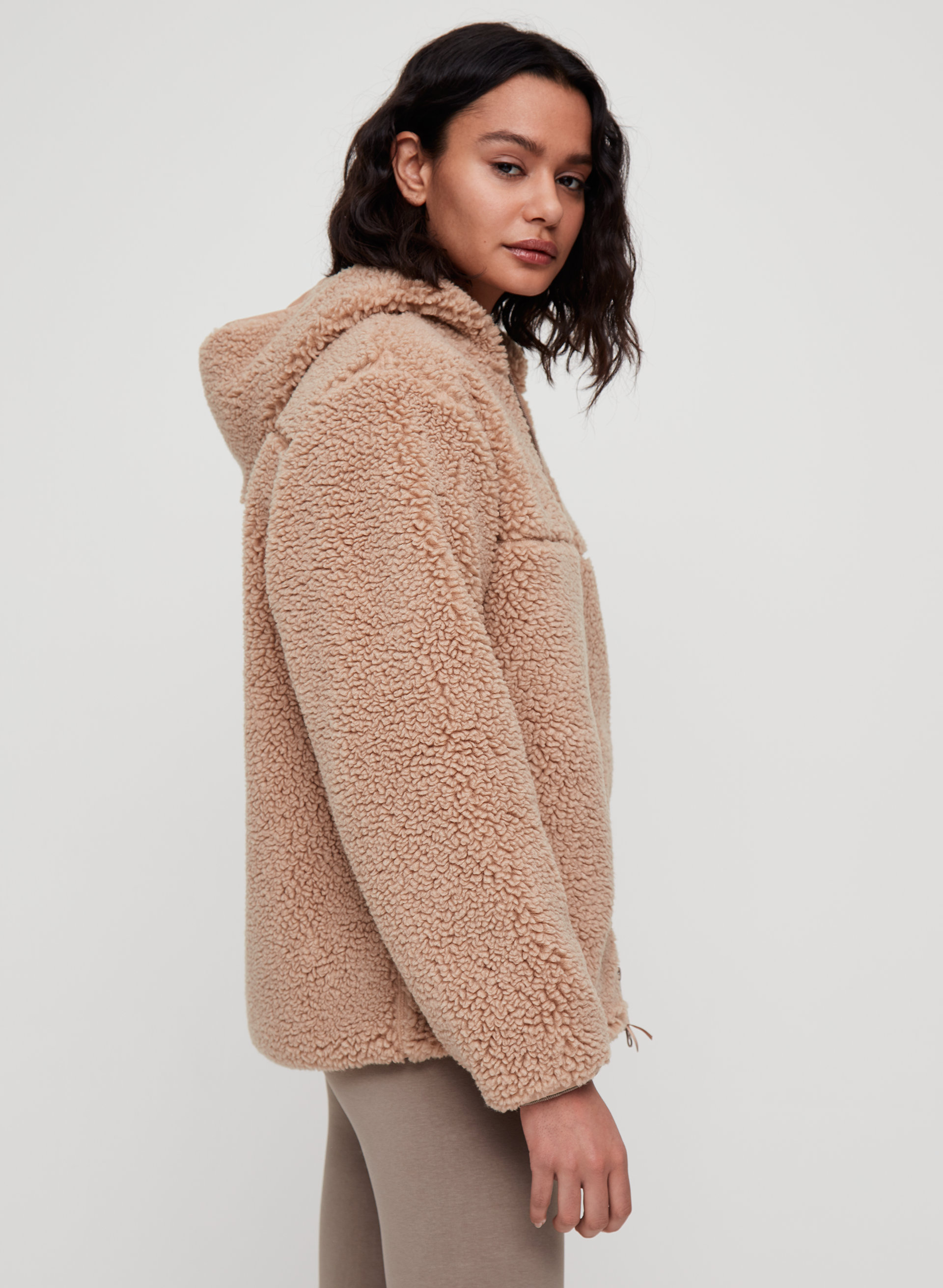 copy photos to iphone tna sherpa fleece hoodie aritzia us 13887
