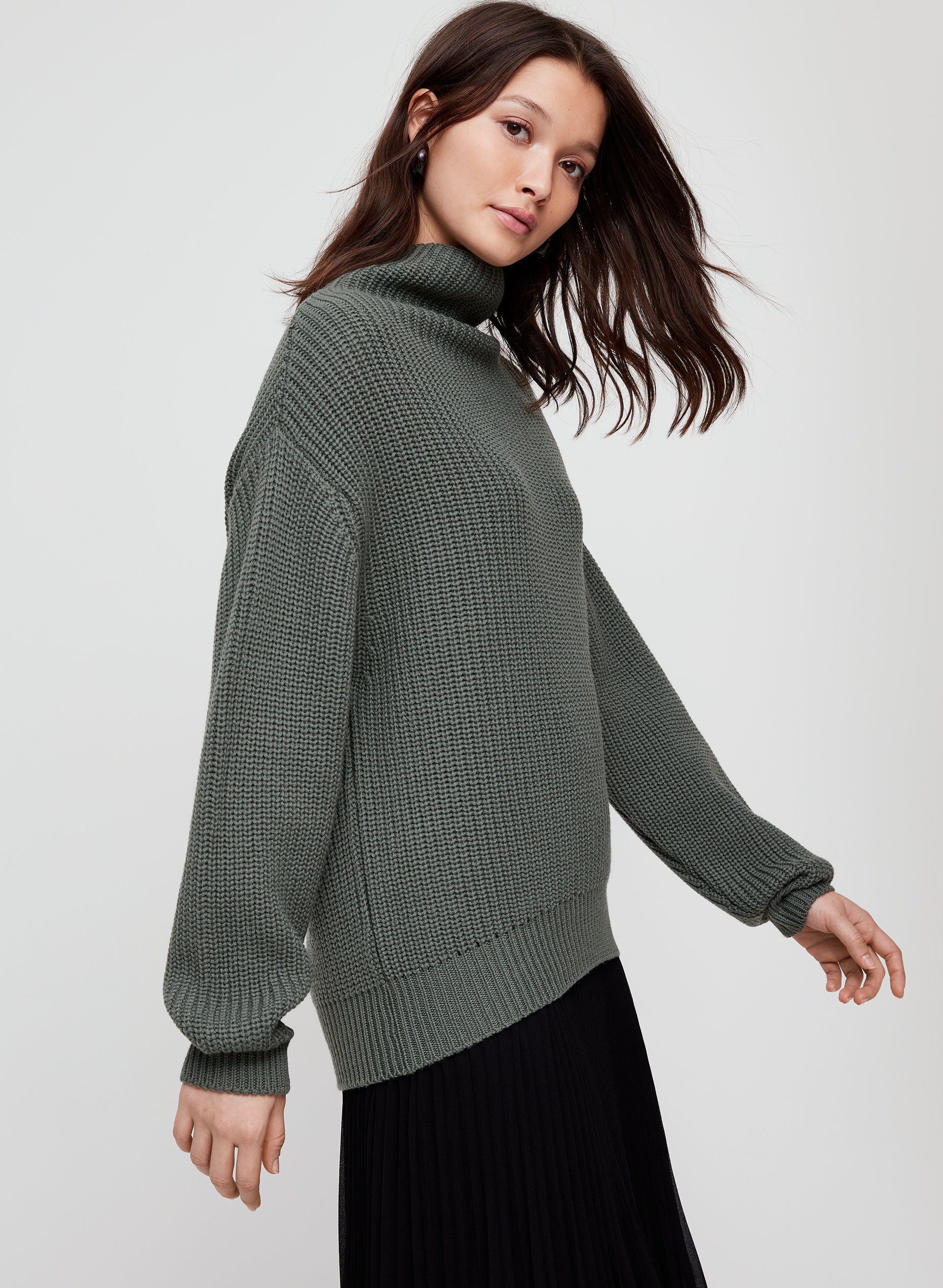 543dab91878 montpellier sweater Merino-wool turtleneck sweater