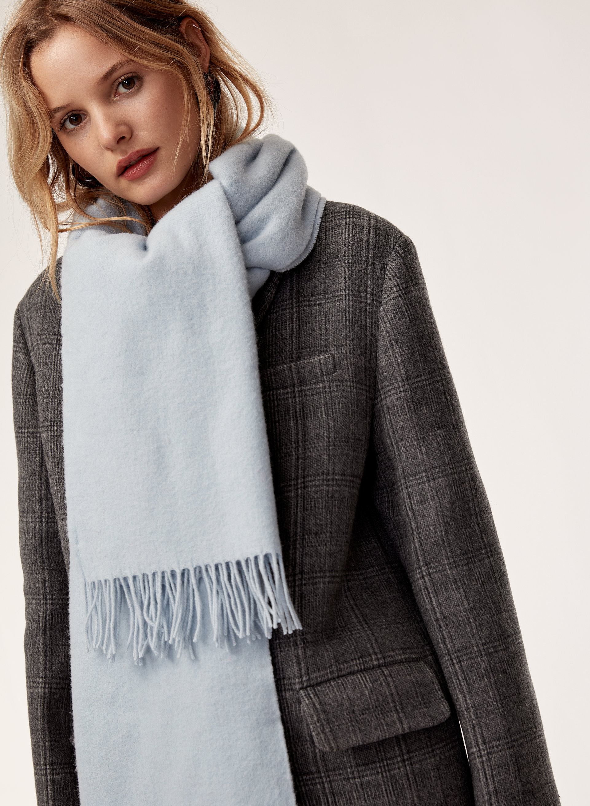 Wilfred + The Classic Wool Scarf - refinery29.com