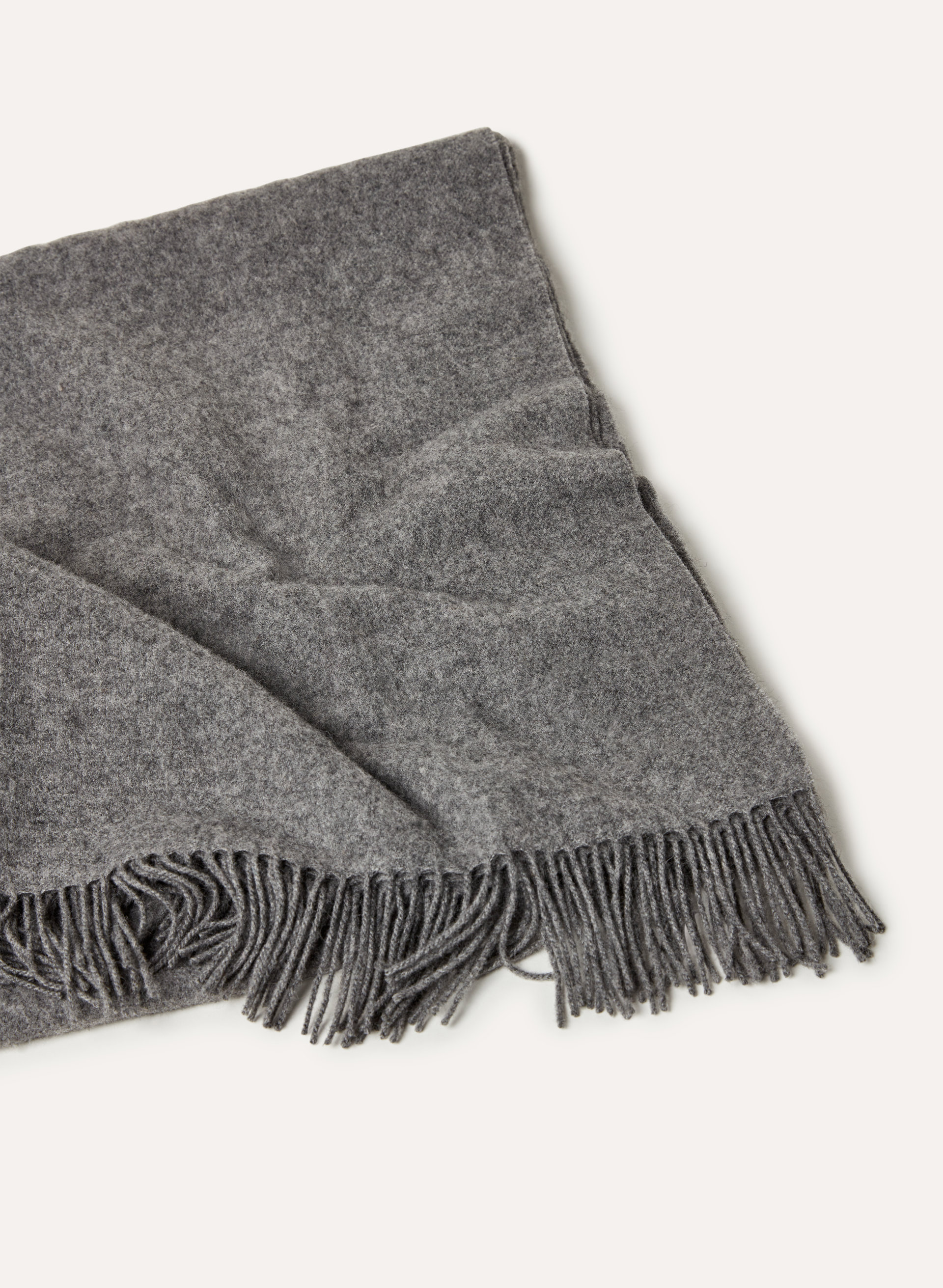 Wool Scarf with Sleeves