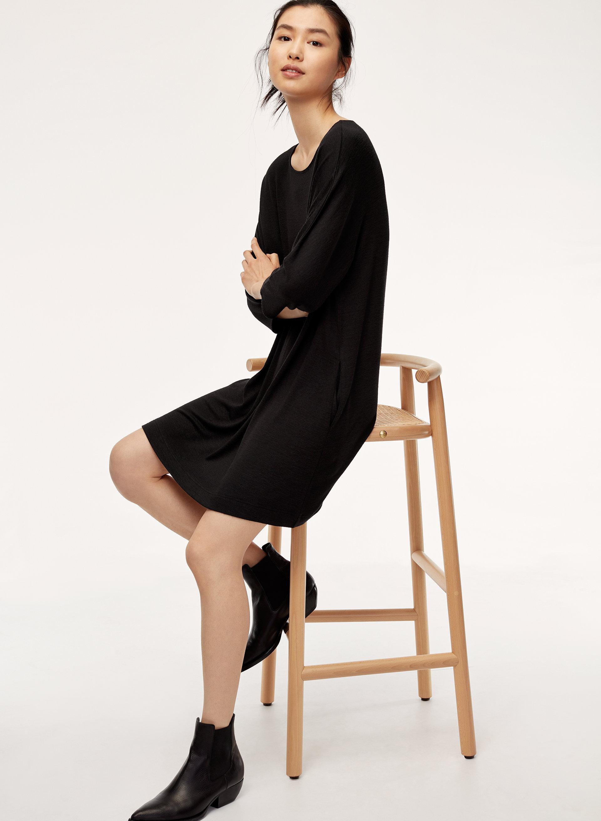 wilfred free cober dress aritzia ca