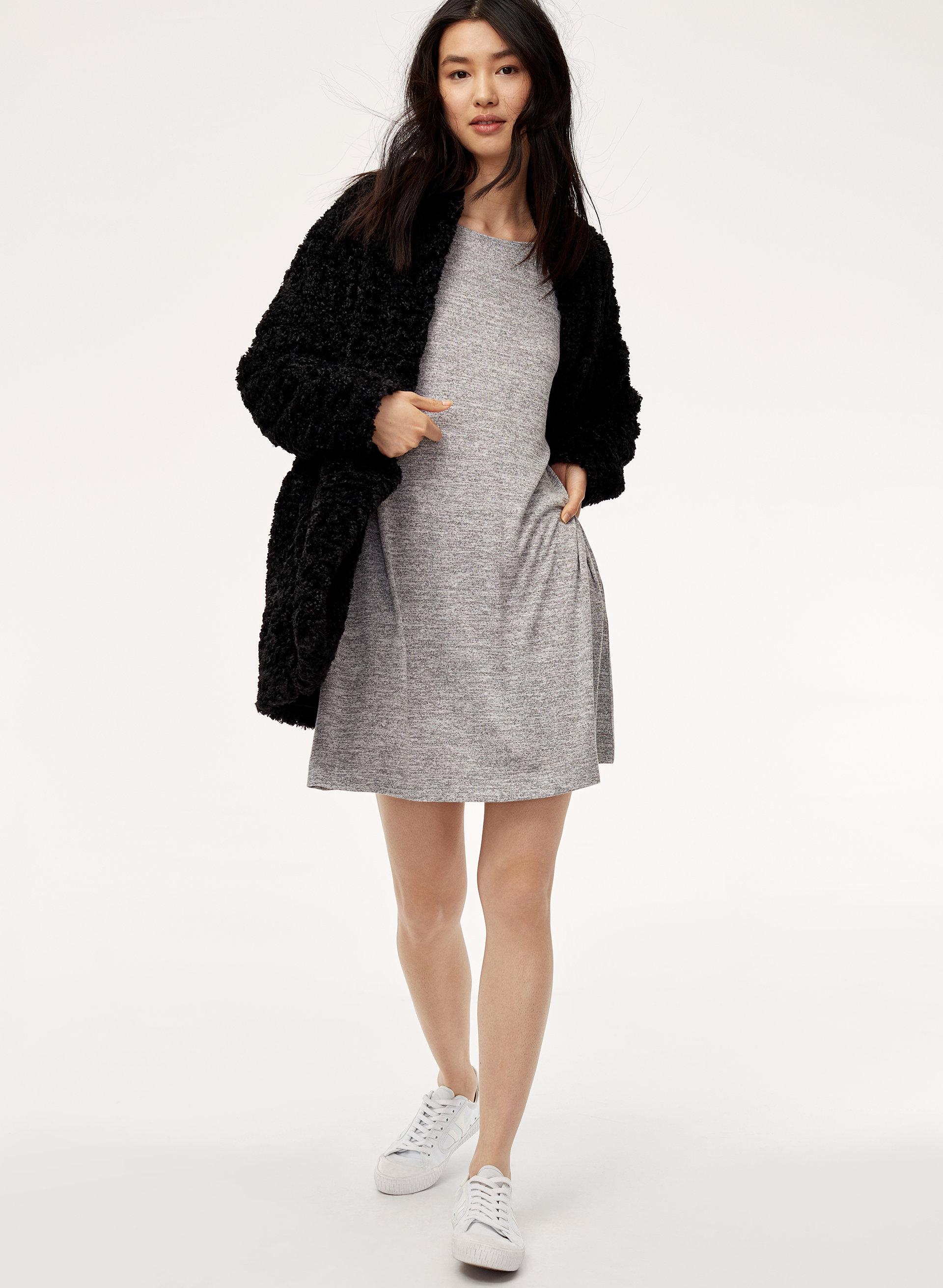 wilfred free cober dress aritzia us