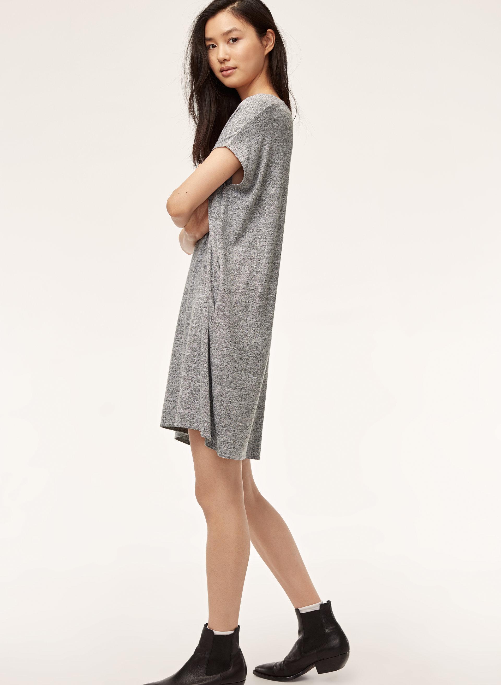 7a445ec52a8d LORELEI DRESS - Relaxed, jersey, t-shirt dress