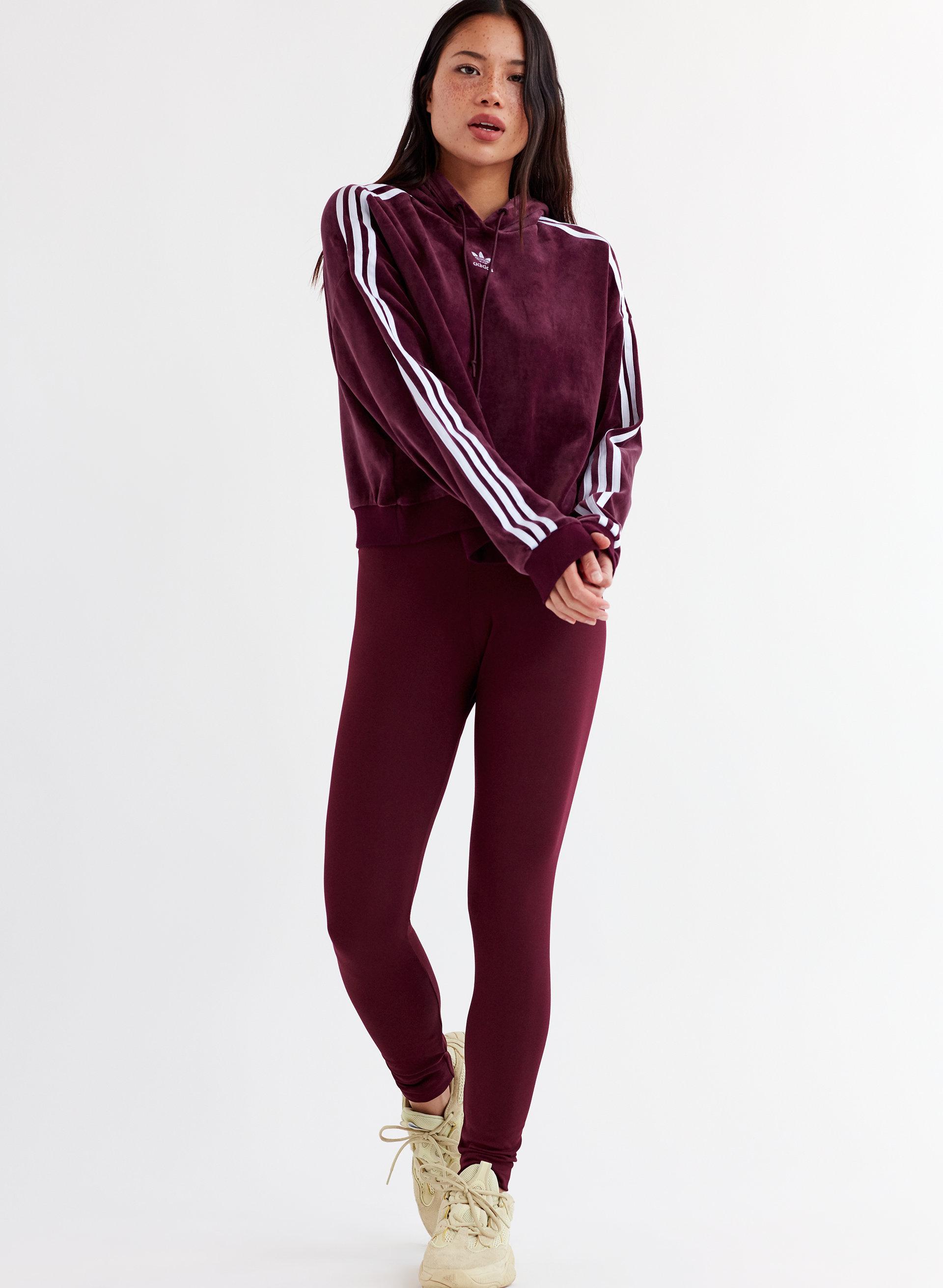 fresh styles sale retailer entire collection adidas VELOUR CROP HOODIE | Aritzia CA