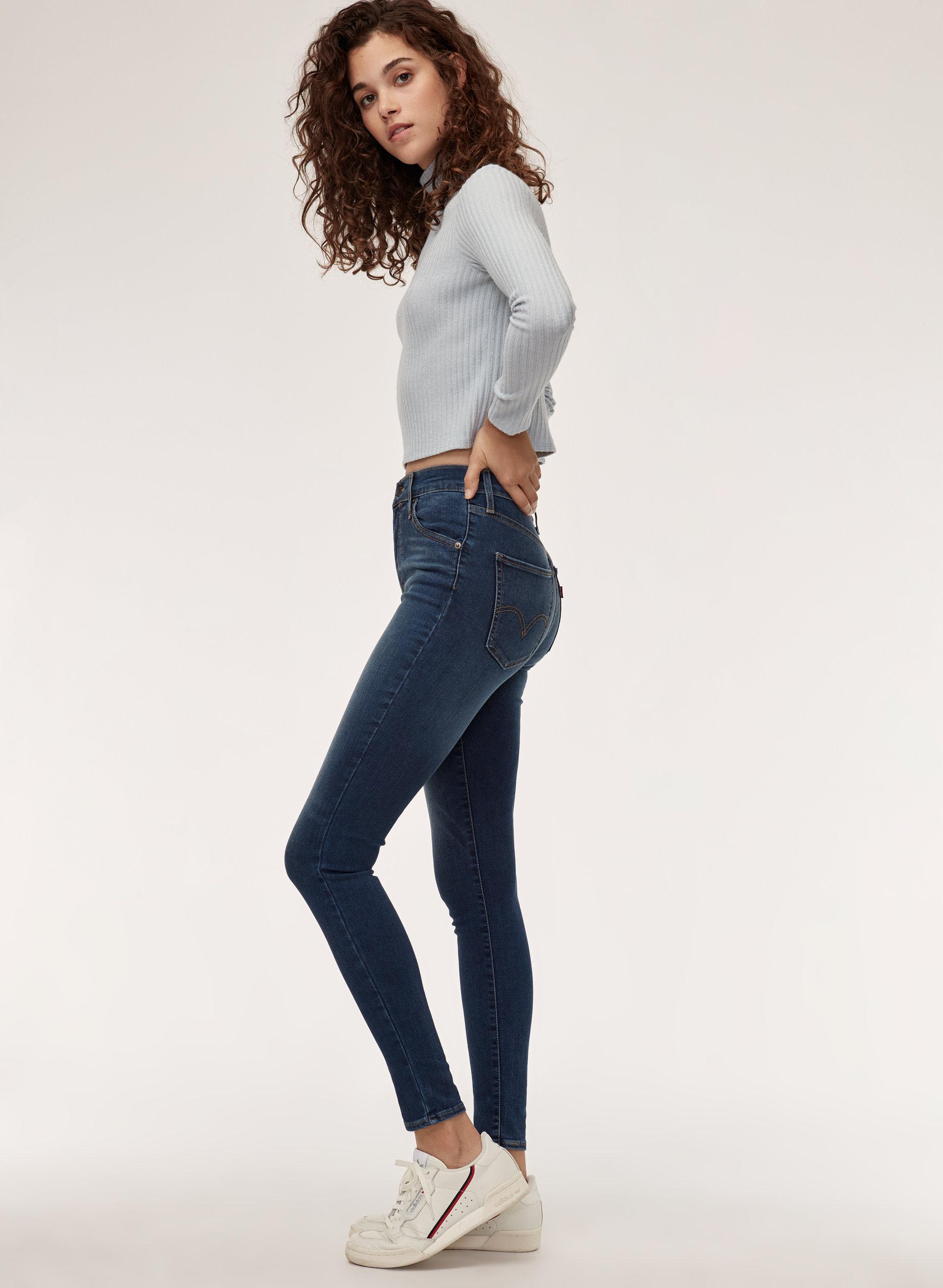 3c55bbd8d5d95b MILE HIGH SUPER SKINNY - High-waisted skinny jean
