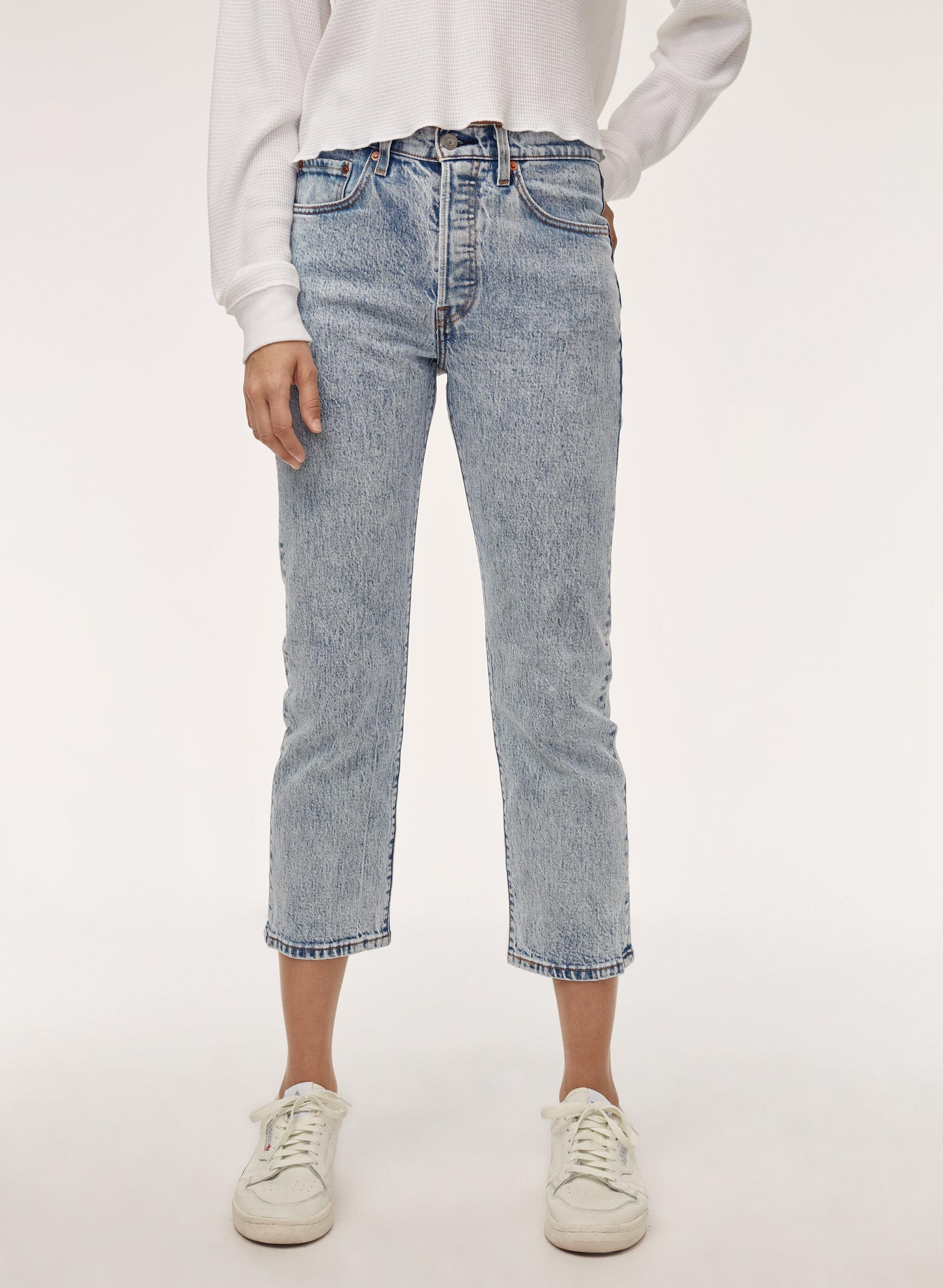 b22df45da76 501 CROP - Mid-rise, straight-leg jean
