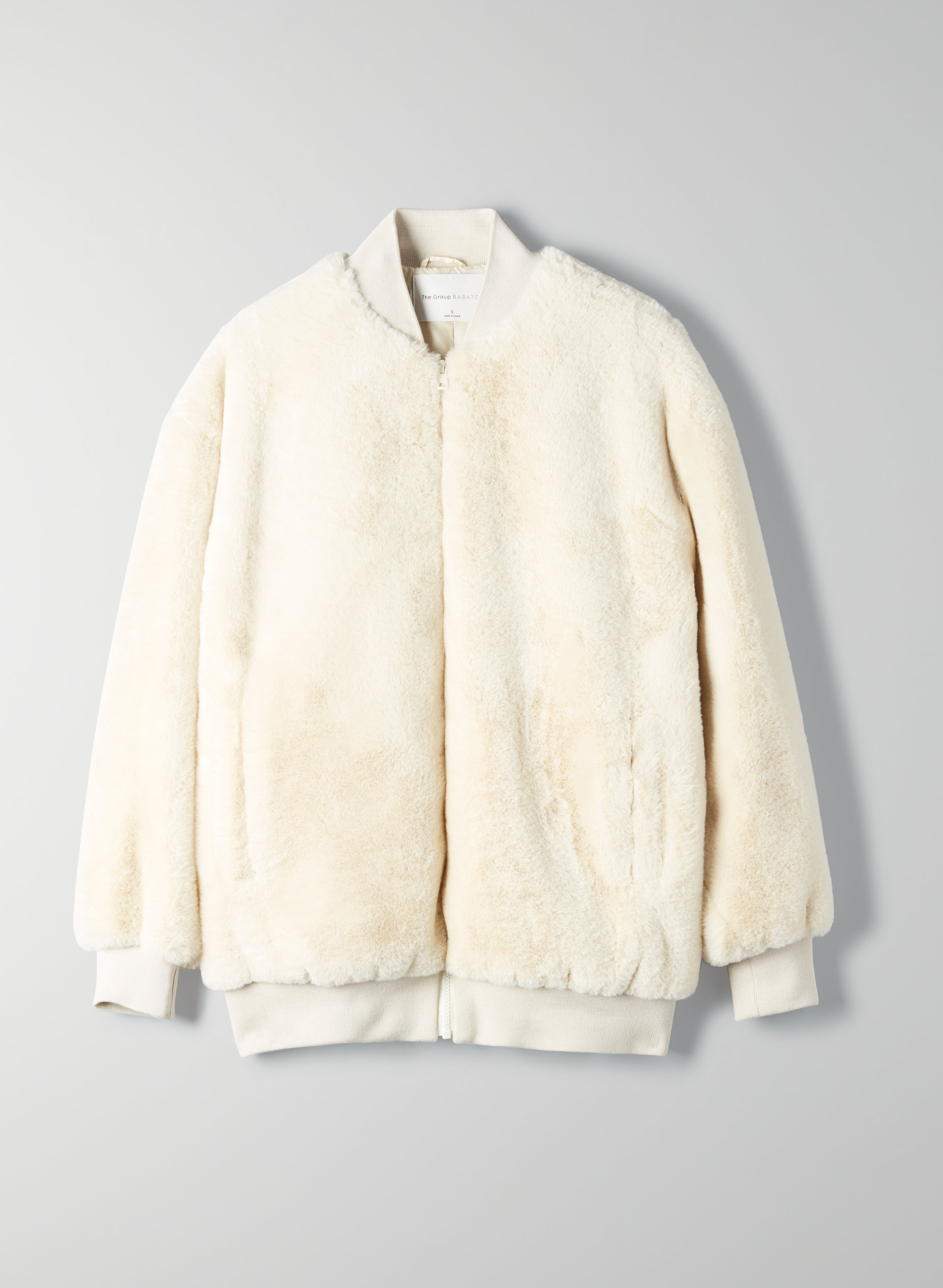 The Group by Babaton FAUX FUR BOMBER JACKET | Aritzia US