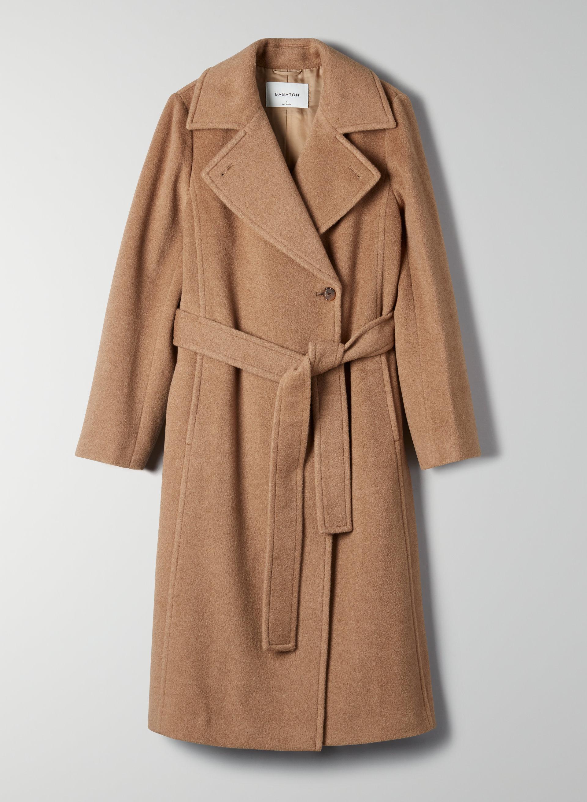 Camel Coats for Women | Aritzia US