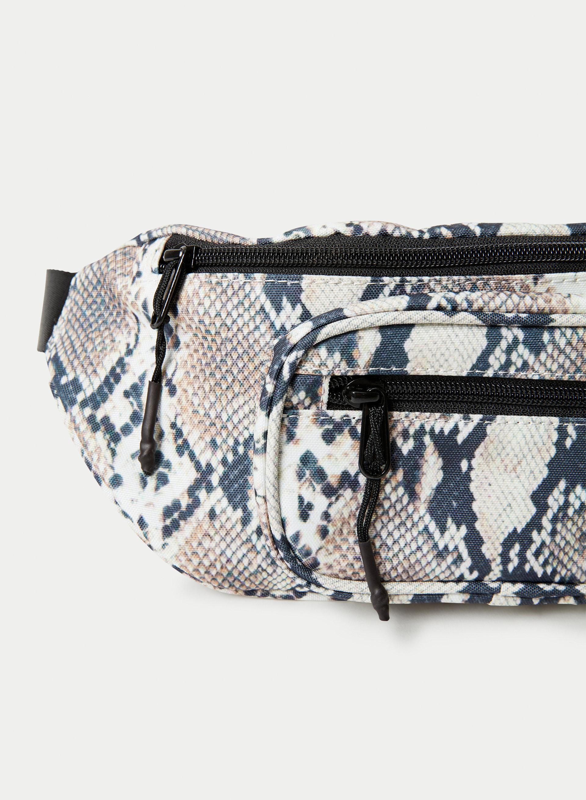 Hip Bag Miniature Bull Terrier Belly Bag Delicious Jeans Upcyling Belt Bag