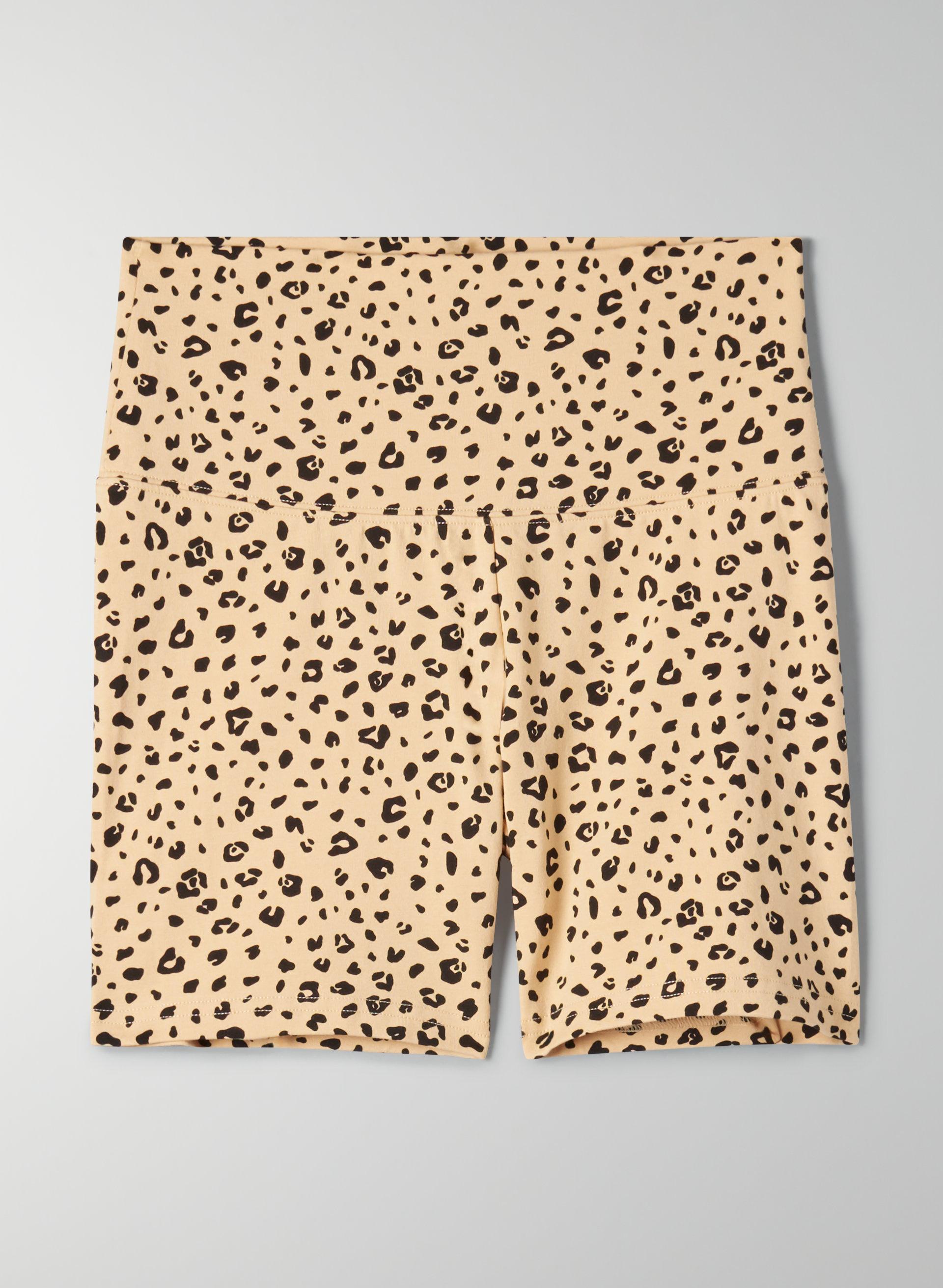 Disco//80 S//fête//POP Shorts tierimitat Leopard de mode important taille L