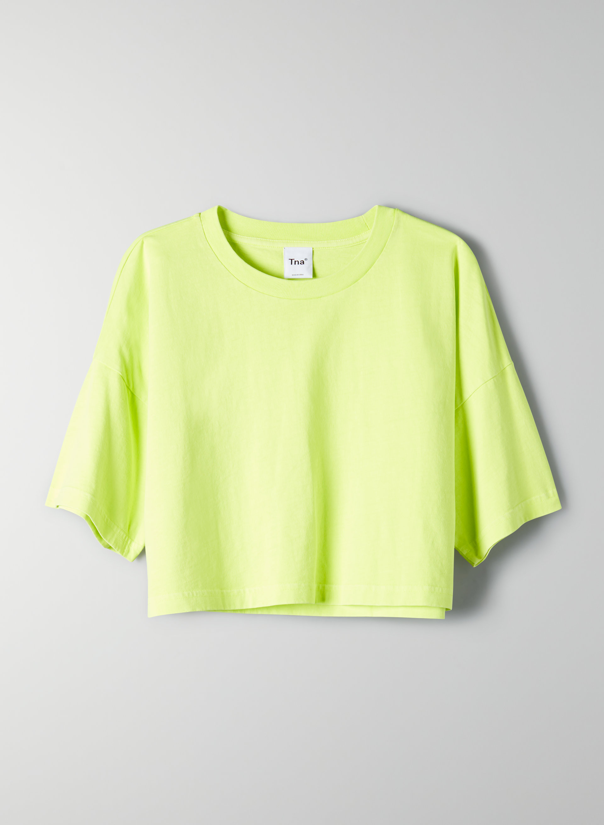 957eec97ae3d6 DITMAS CROPPED TOP - Cropped, boxy t-shirt. Styled with new balance ...