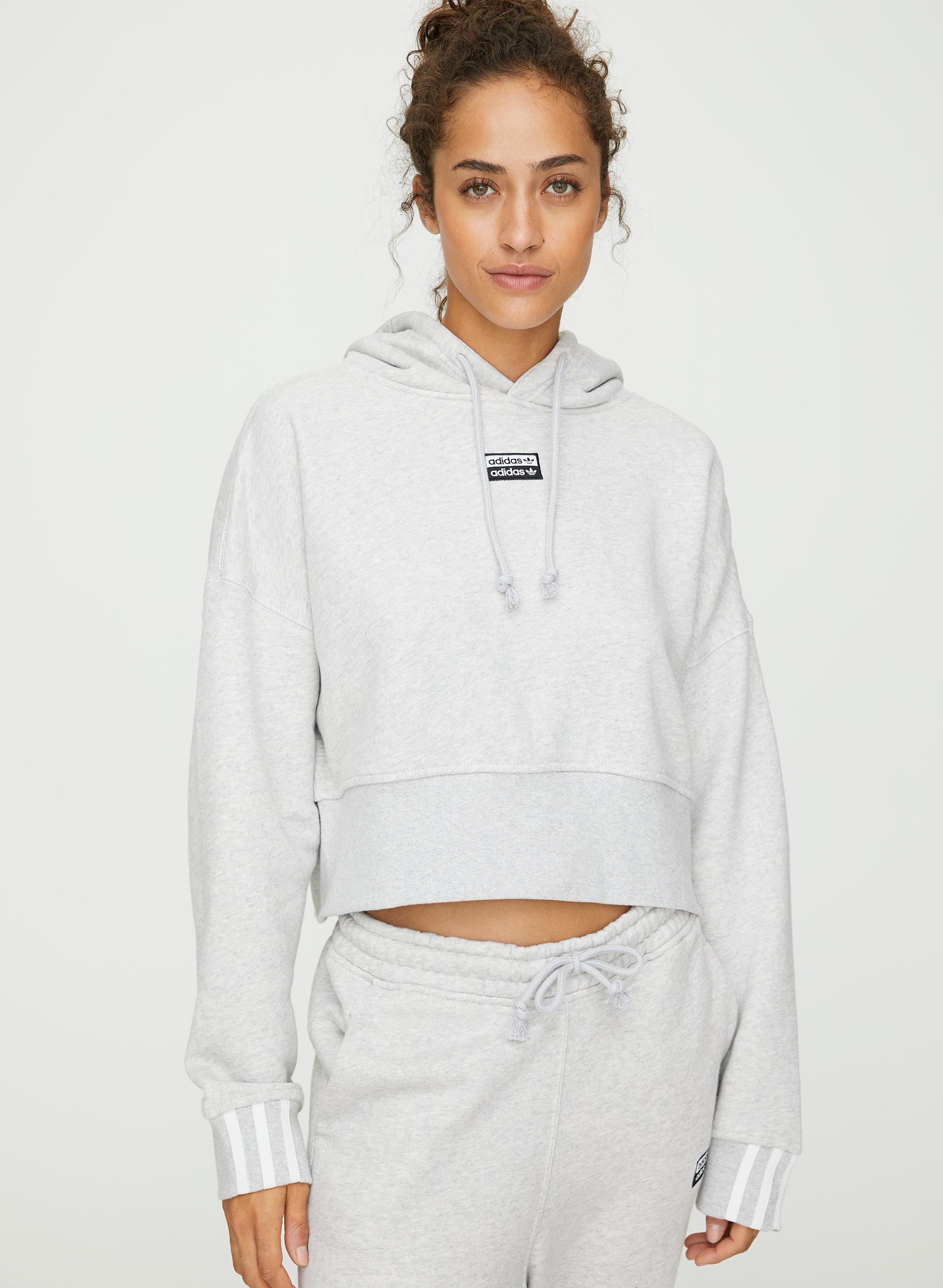 adidas crop hoodie