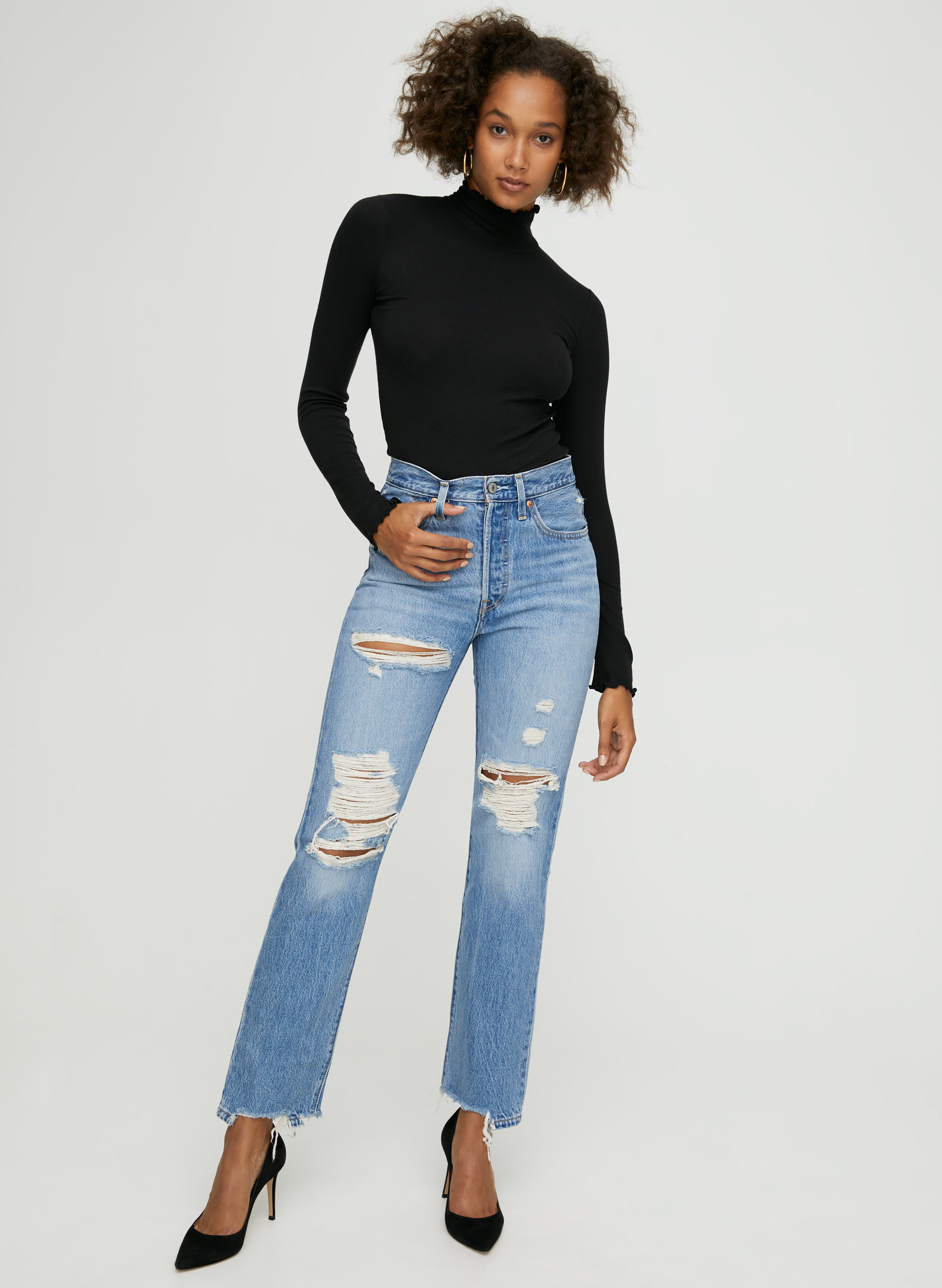 search for clearance 100% original attractive designs Levi's 501 STRAIGHT | Aritzia US
