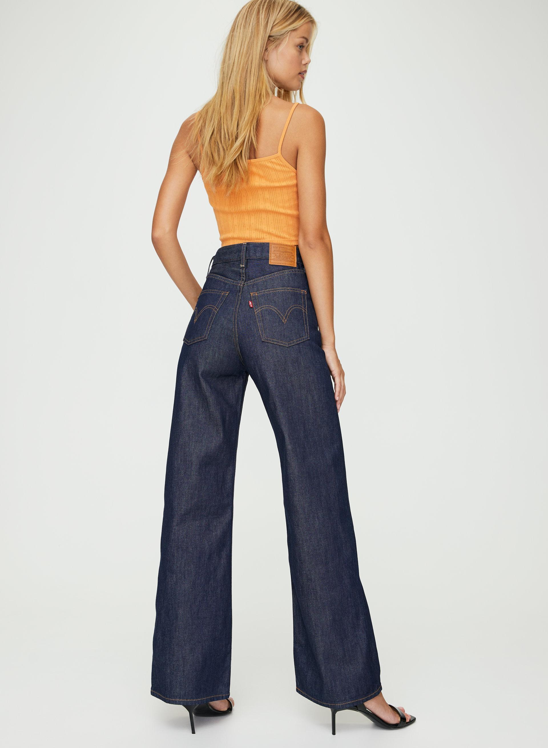 Levis/® Ribcage Wide Leg Jeans