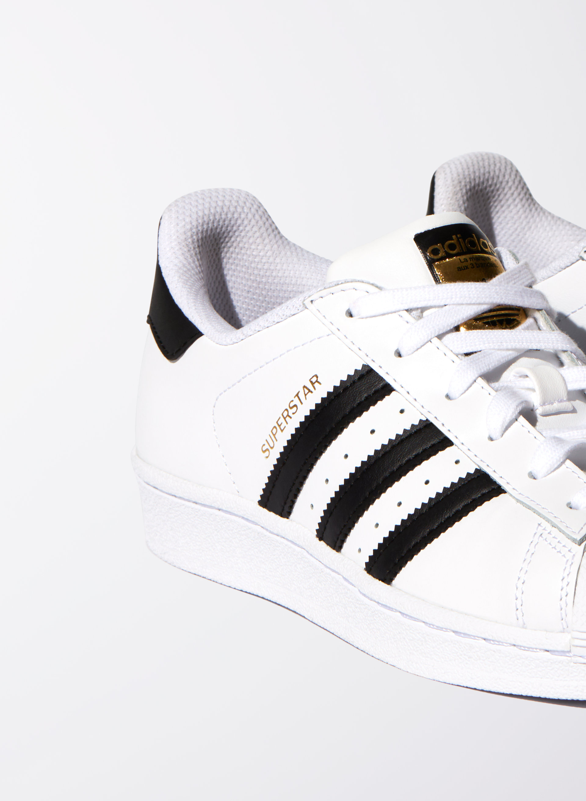 Cheap Adidas Superstar White & Rose Gold/Bronze FOUNDATION
