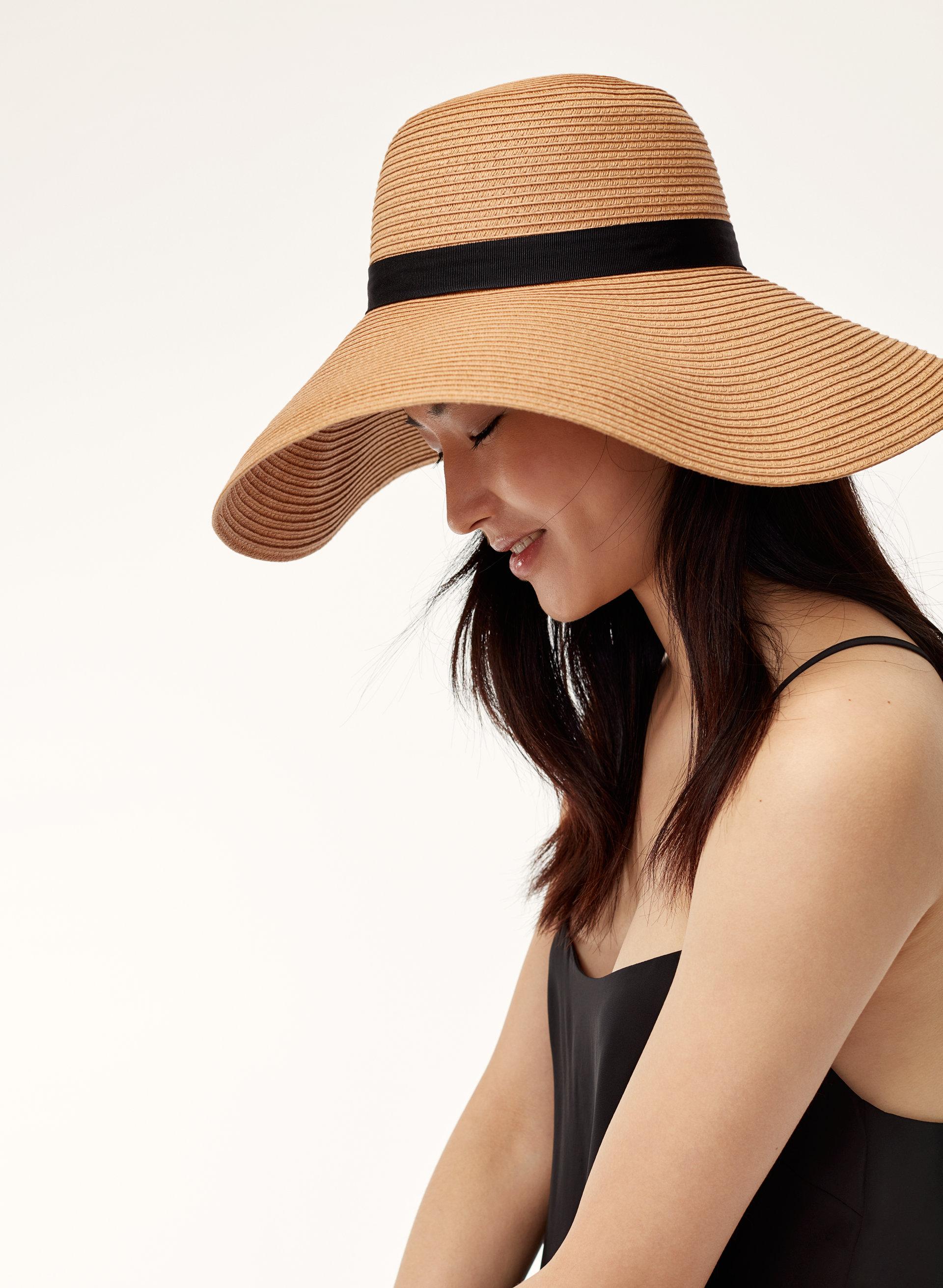 main character raven straw hat aritzia us