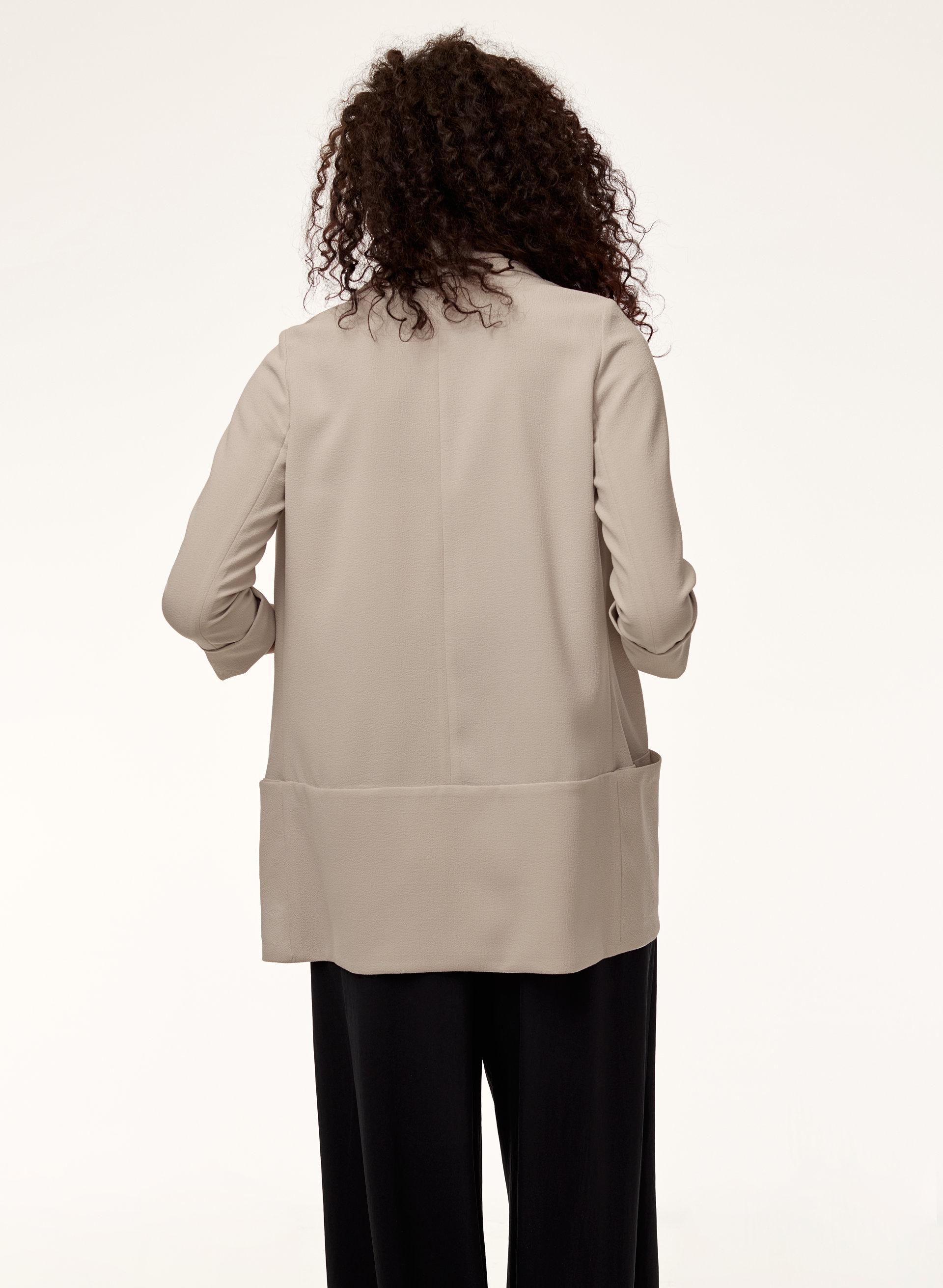 Vest blazer creme