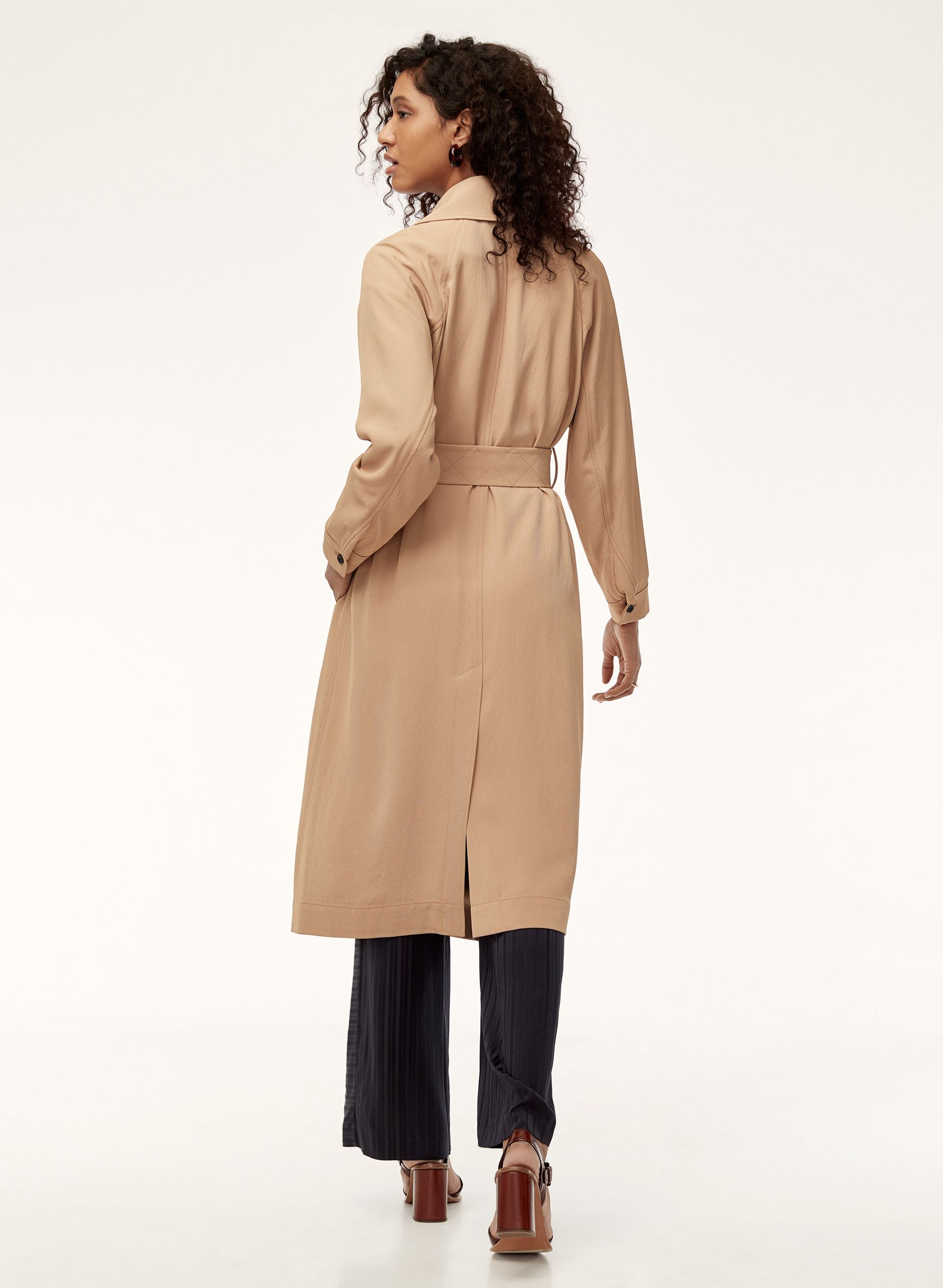 clothing drape duster oversized camel women coat coats missguided waterfall drapes jackets for