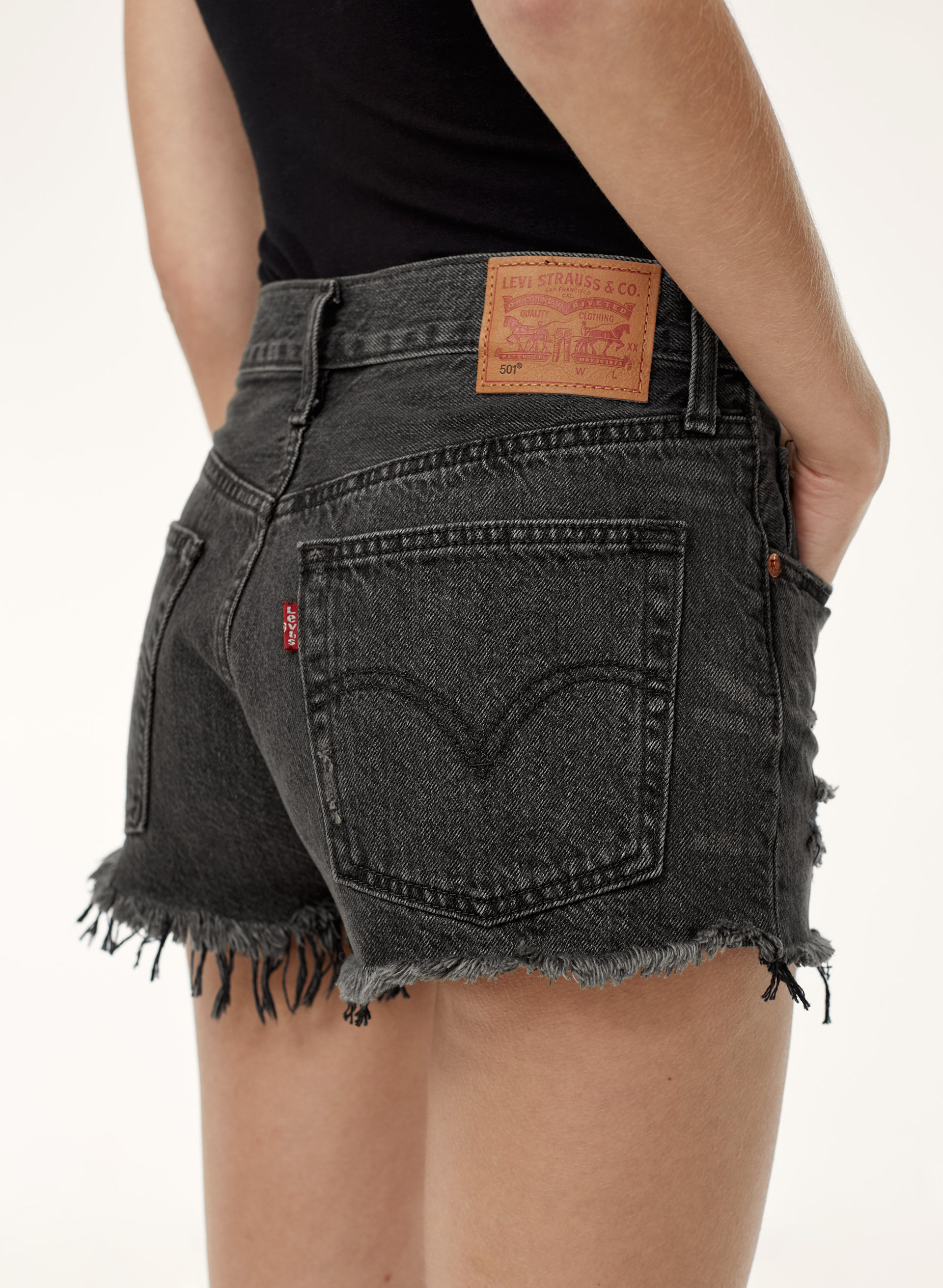 501 High Rise Short. - size 27 (also in 24,25,26,28,29,30,31) Levi's