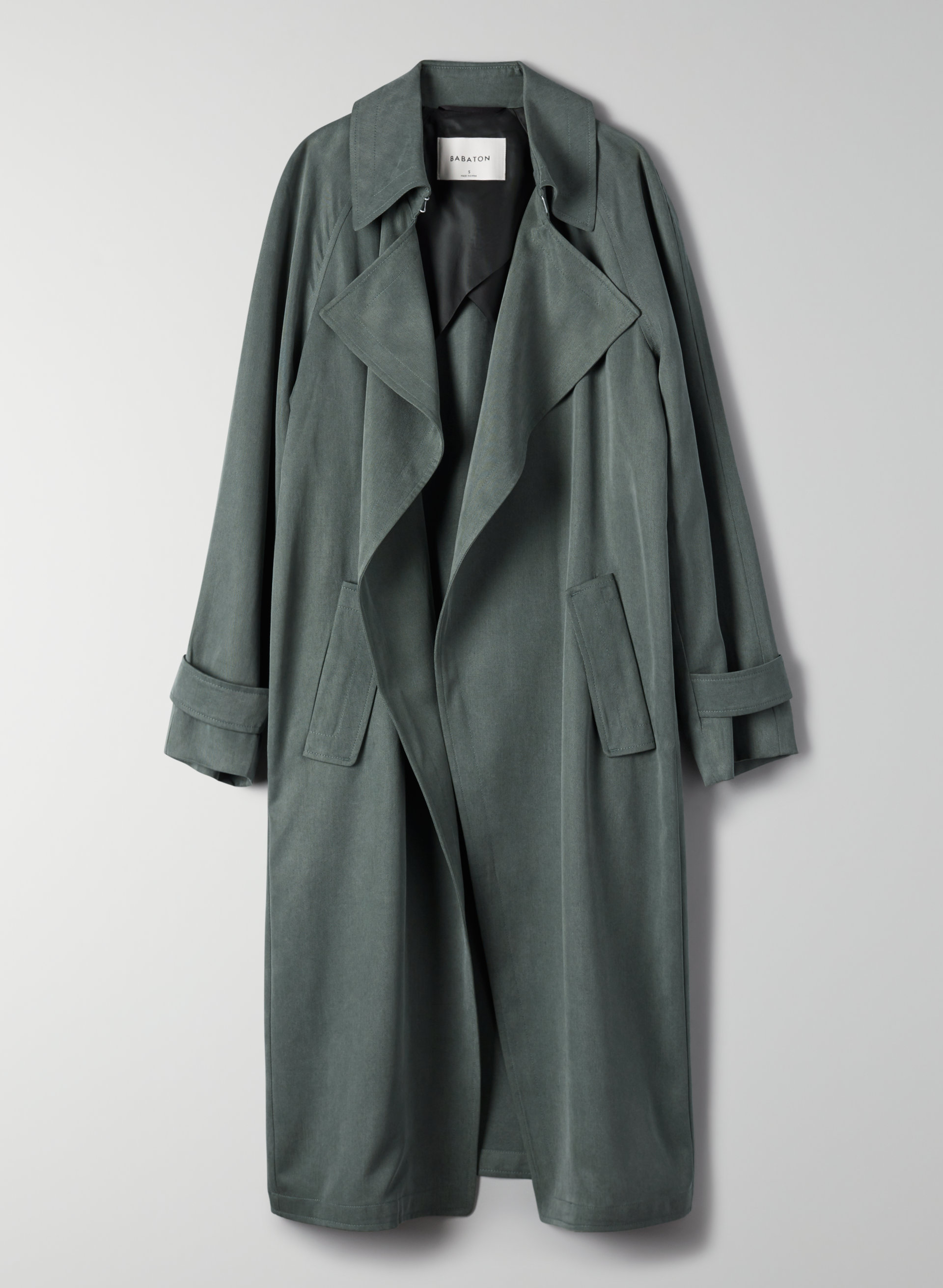 competitive price coupon code variety design Babaton LAWSON TRENCH COAT | Aritzia US