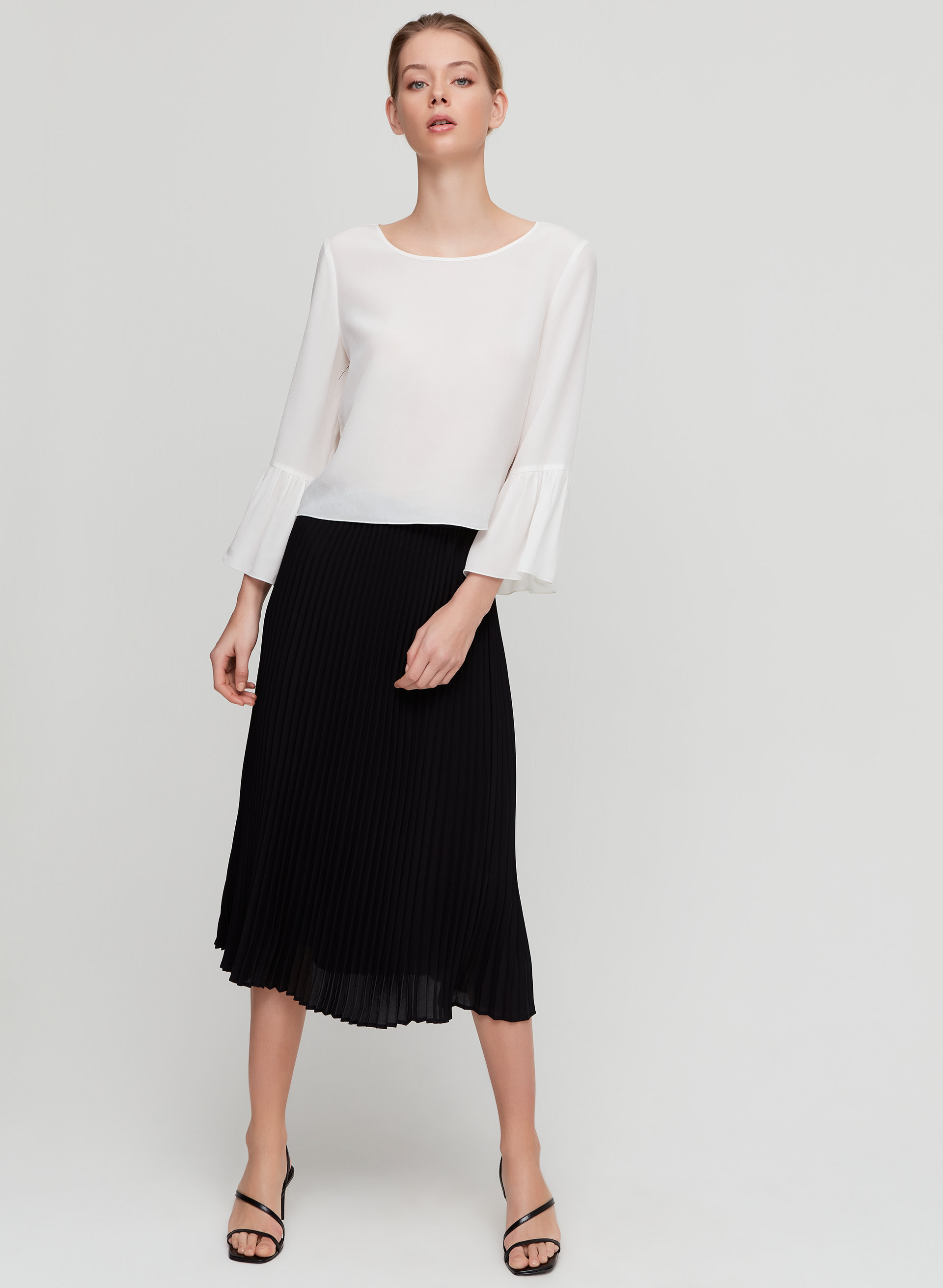 a9bb0a3244 JUDE SKIRT - Pleated midi skirt
