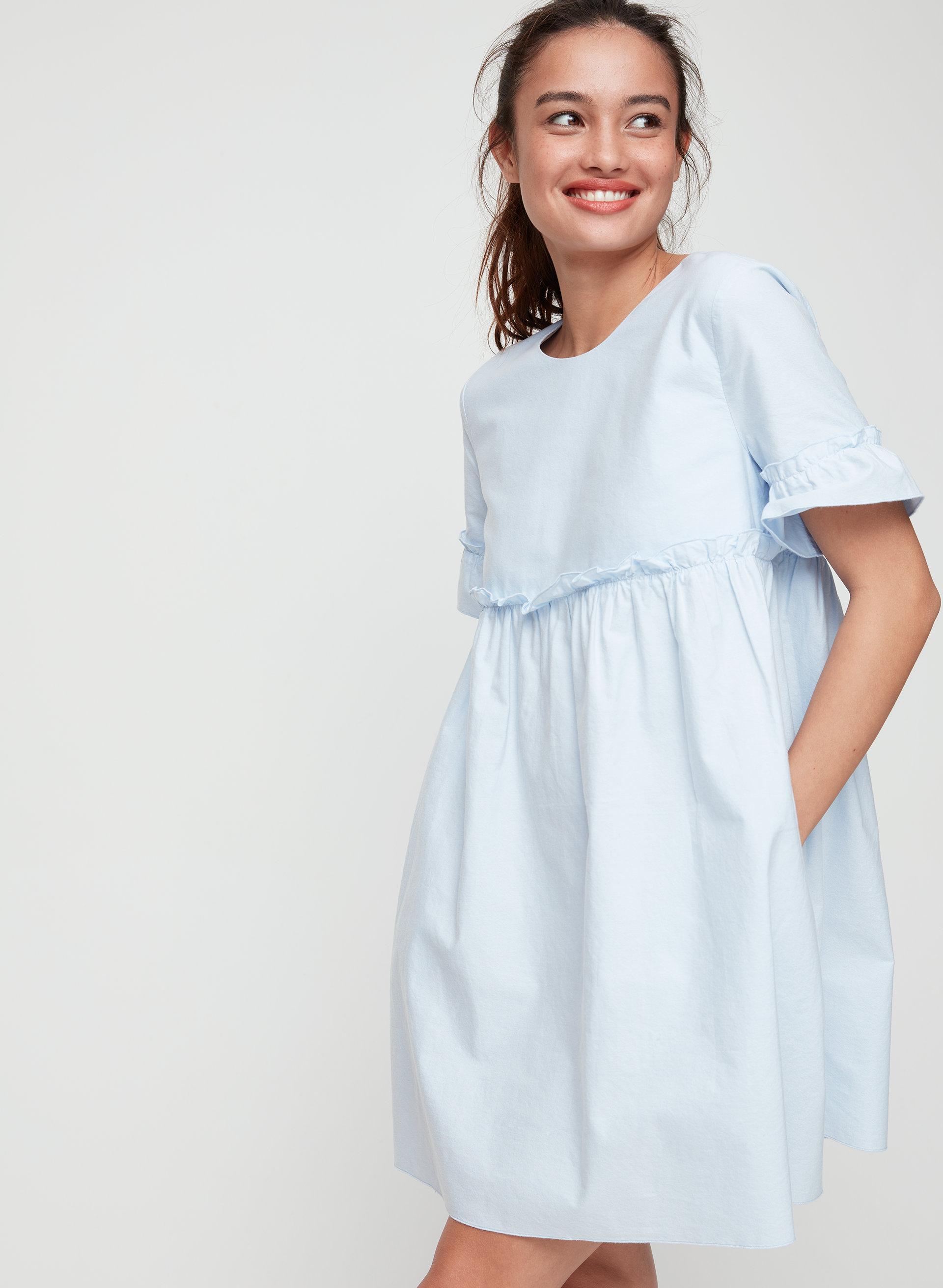 Short Sleeve Empire Dress