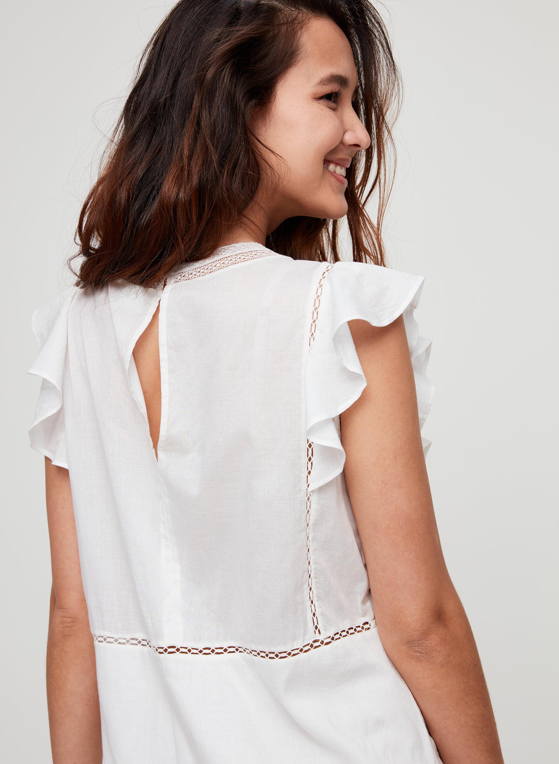5fbd43fe95e ANAYA DRESS - Cotton babydoll dress