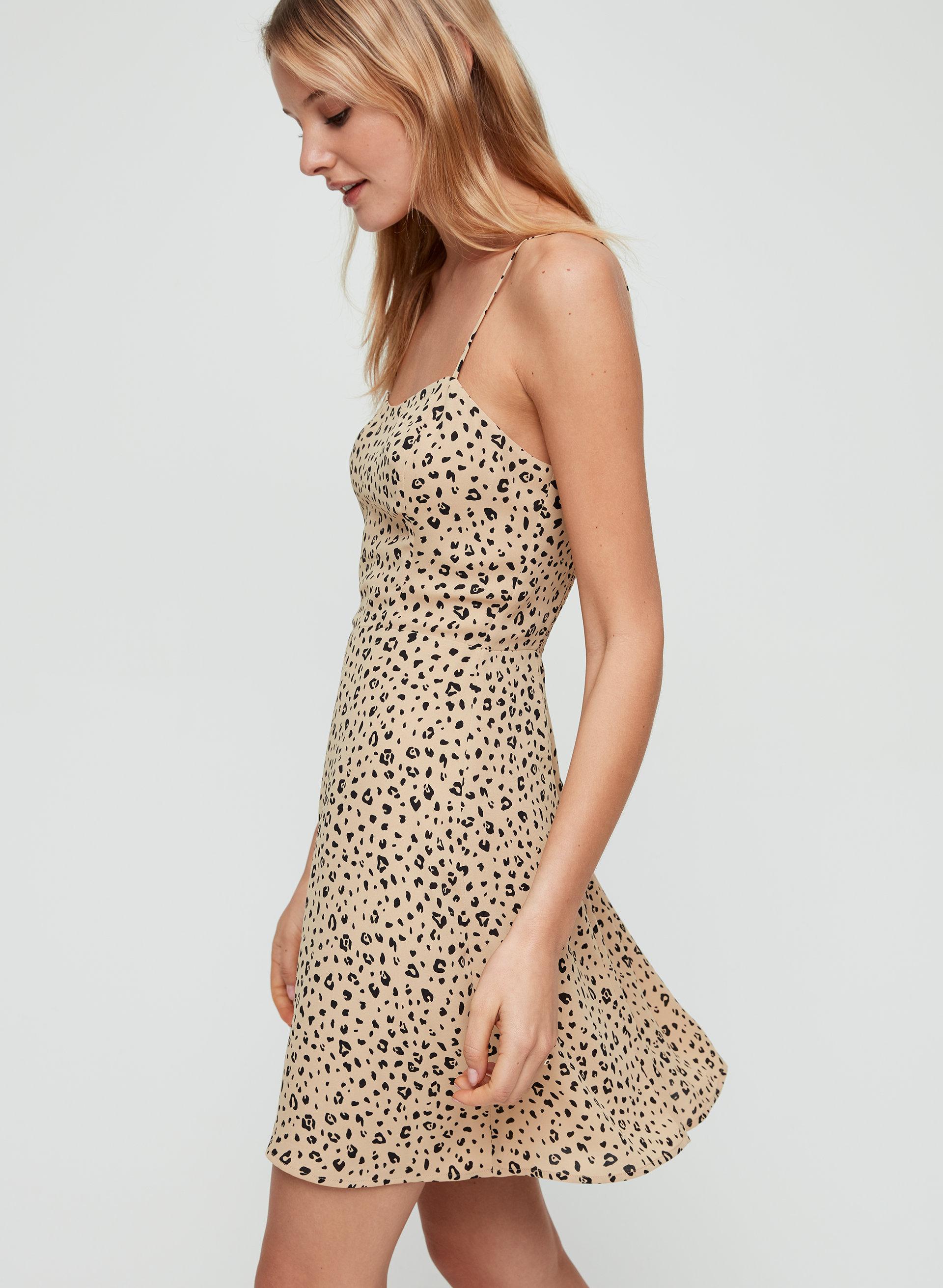 cf1790fcdad76 flirt mini dress Leopard-print mini dress