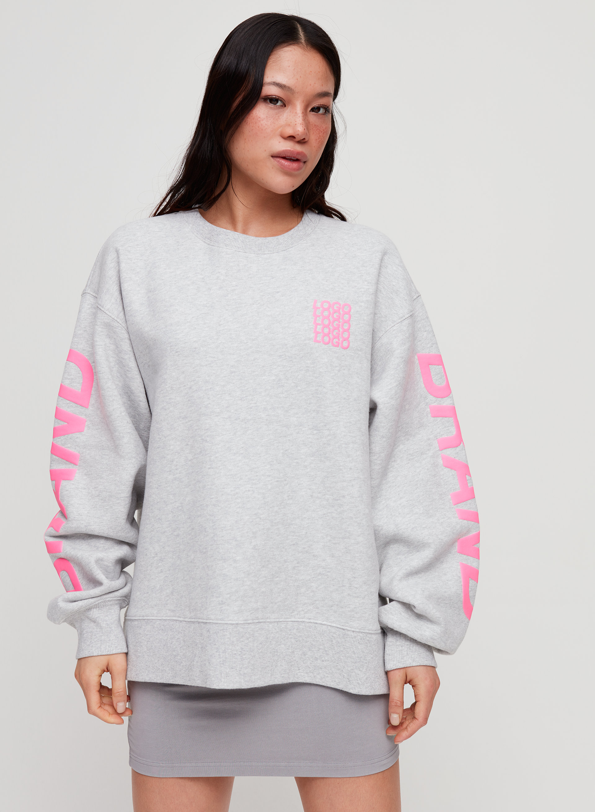 c21671e38 THE OVERSIZED CREW - Oversized crewneck sweatshirt