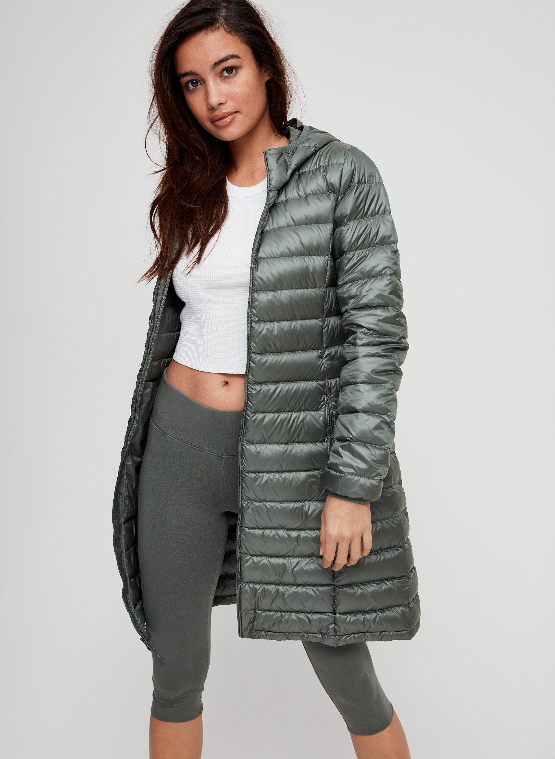 e9eadfadd61 botanie long puffer Packable, goose-down puffer jacket