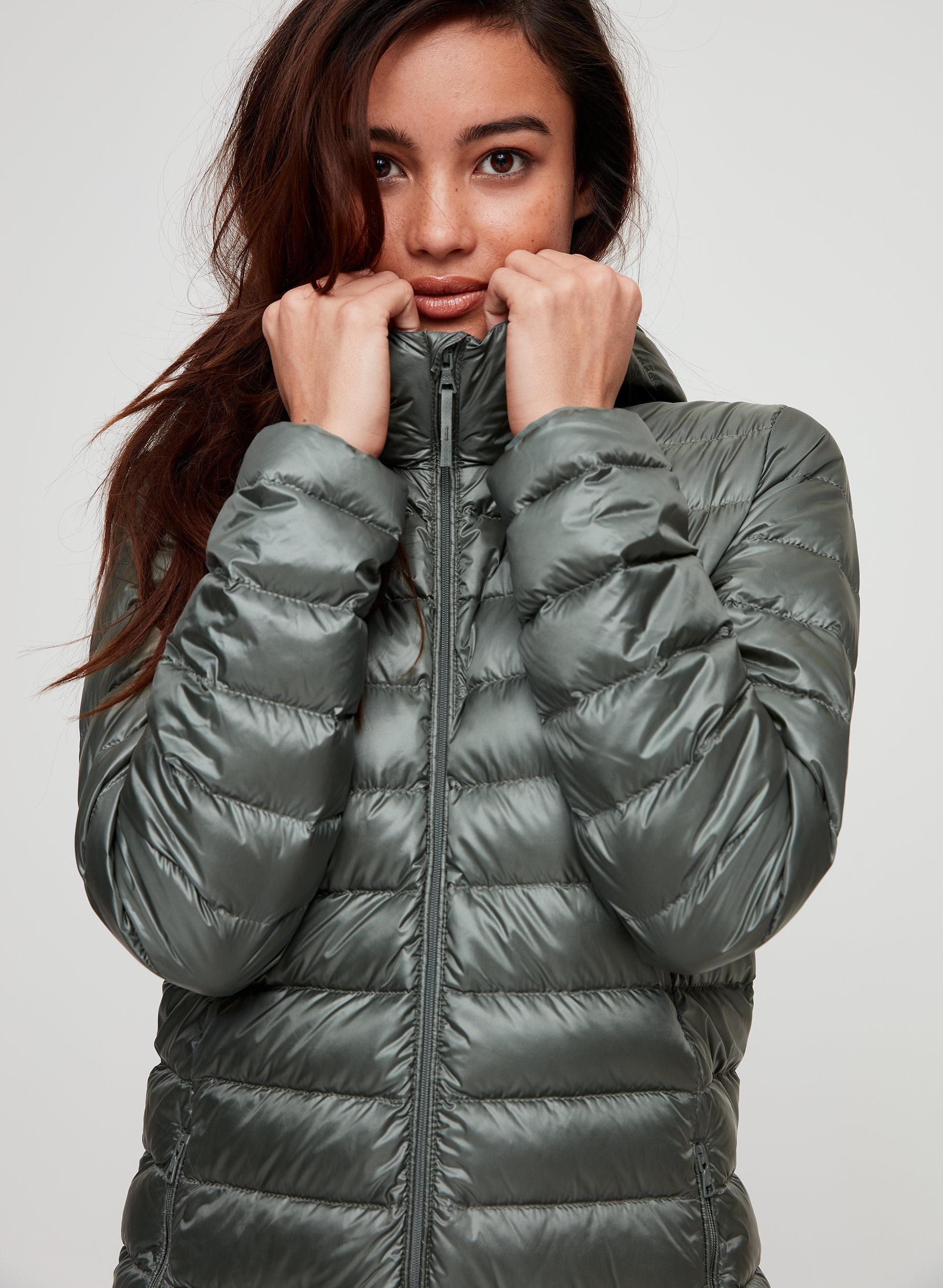 1e8eaf028f9 BOTANIE LONG PUFFER - Packable, goose-down puffer jacket