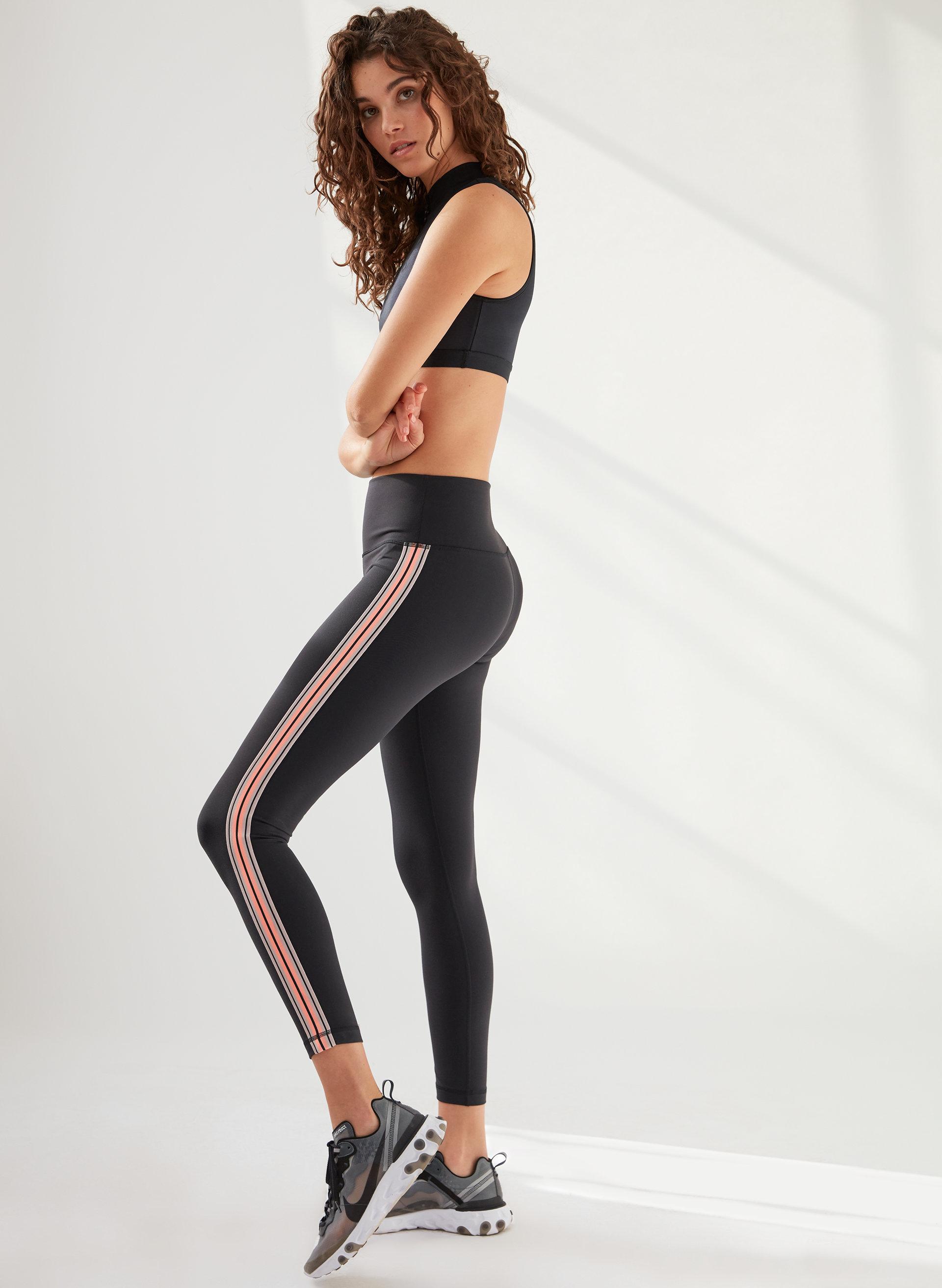 ae85d4fc067ba atmosphere legging High-waisted legging with side stripe