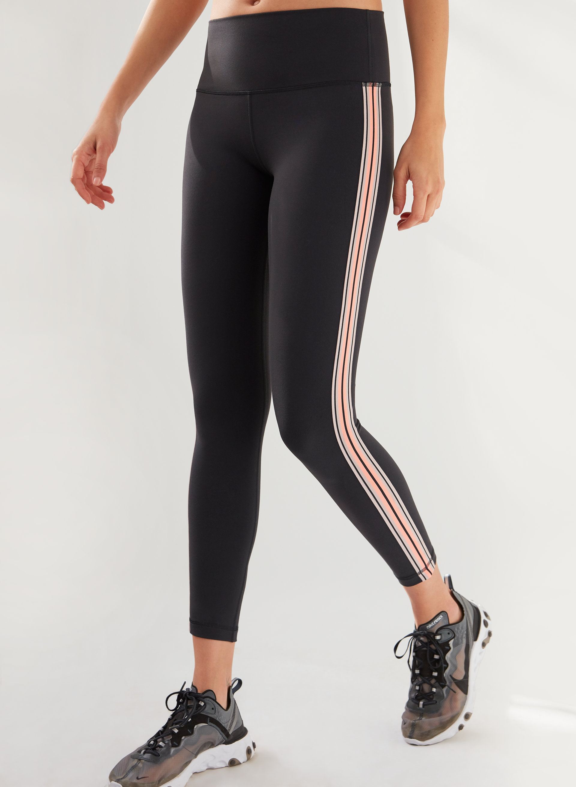 99df27fd00862 ATMOSPHERE LEGGING - High-waisted legging with side stripe
