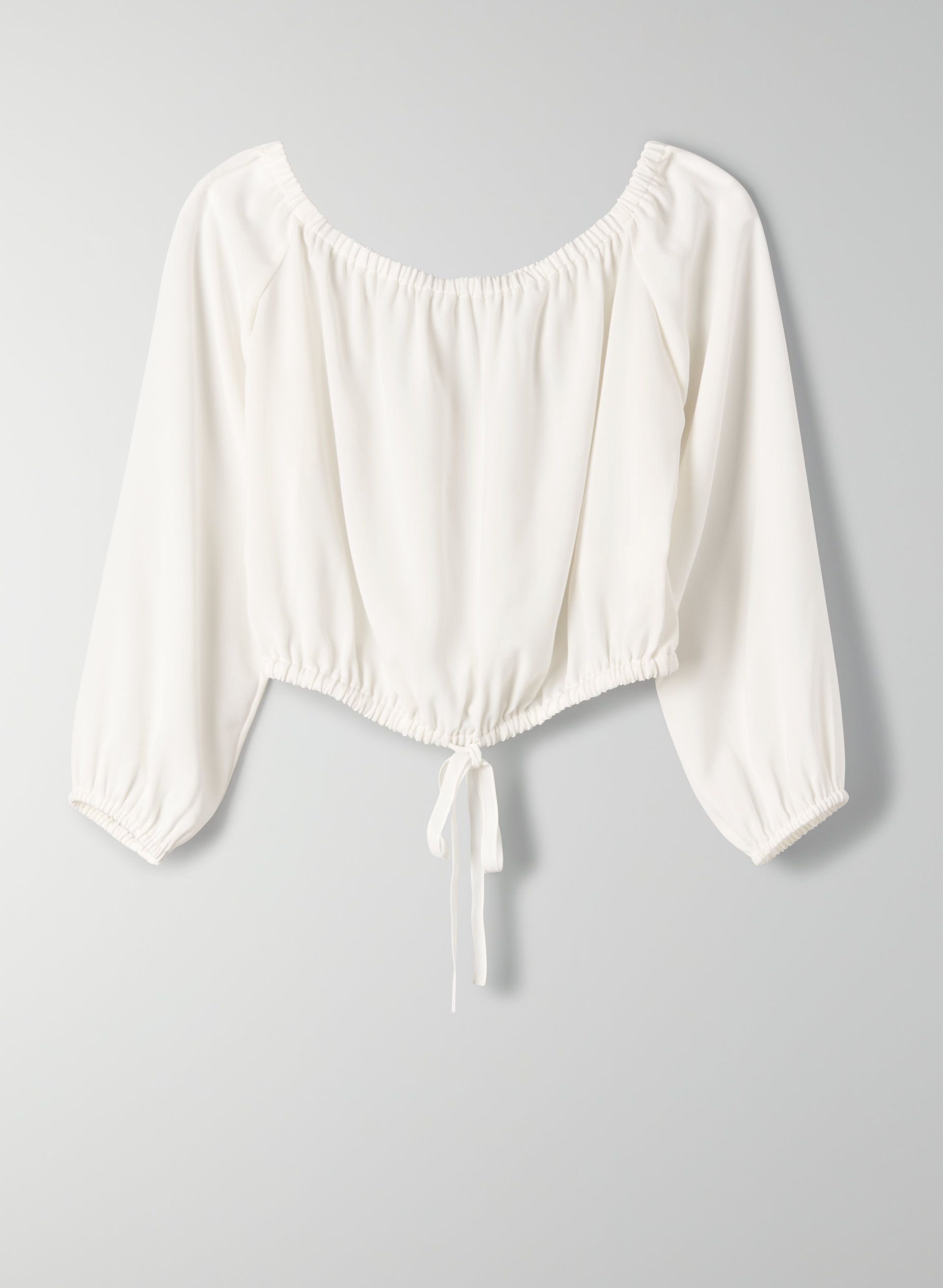 622ec2f86b2 ELEANORA BLOUSE - Cropped, off-the-shoulder top