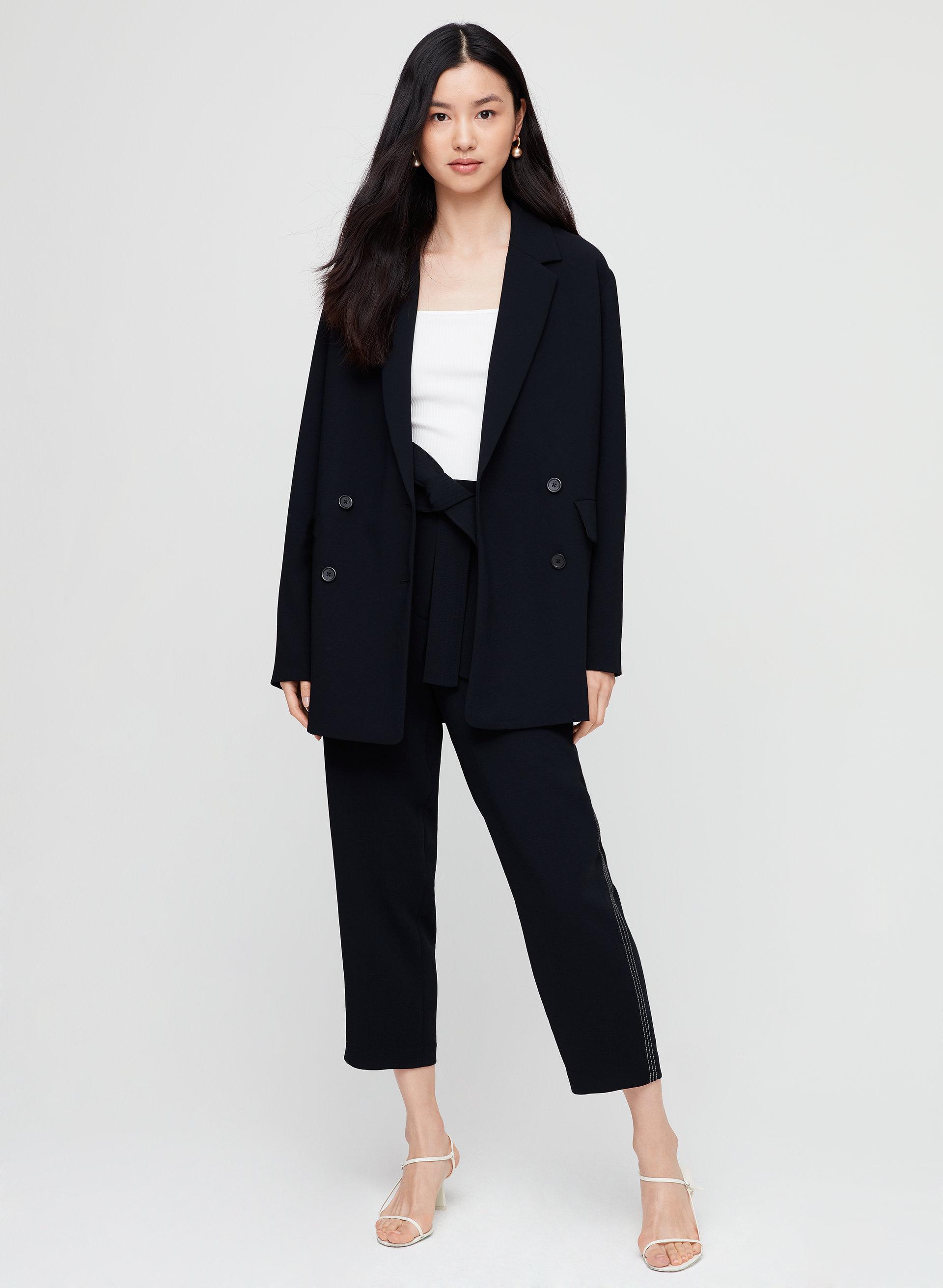 ee9cbffe cherrelle jacket Oversized, double-breasted blazer