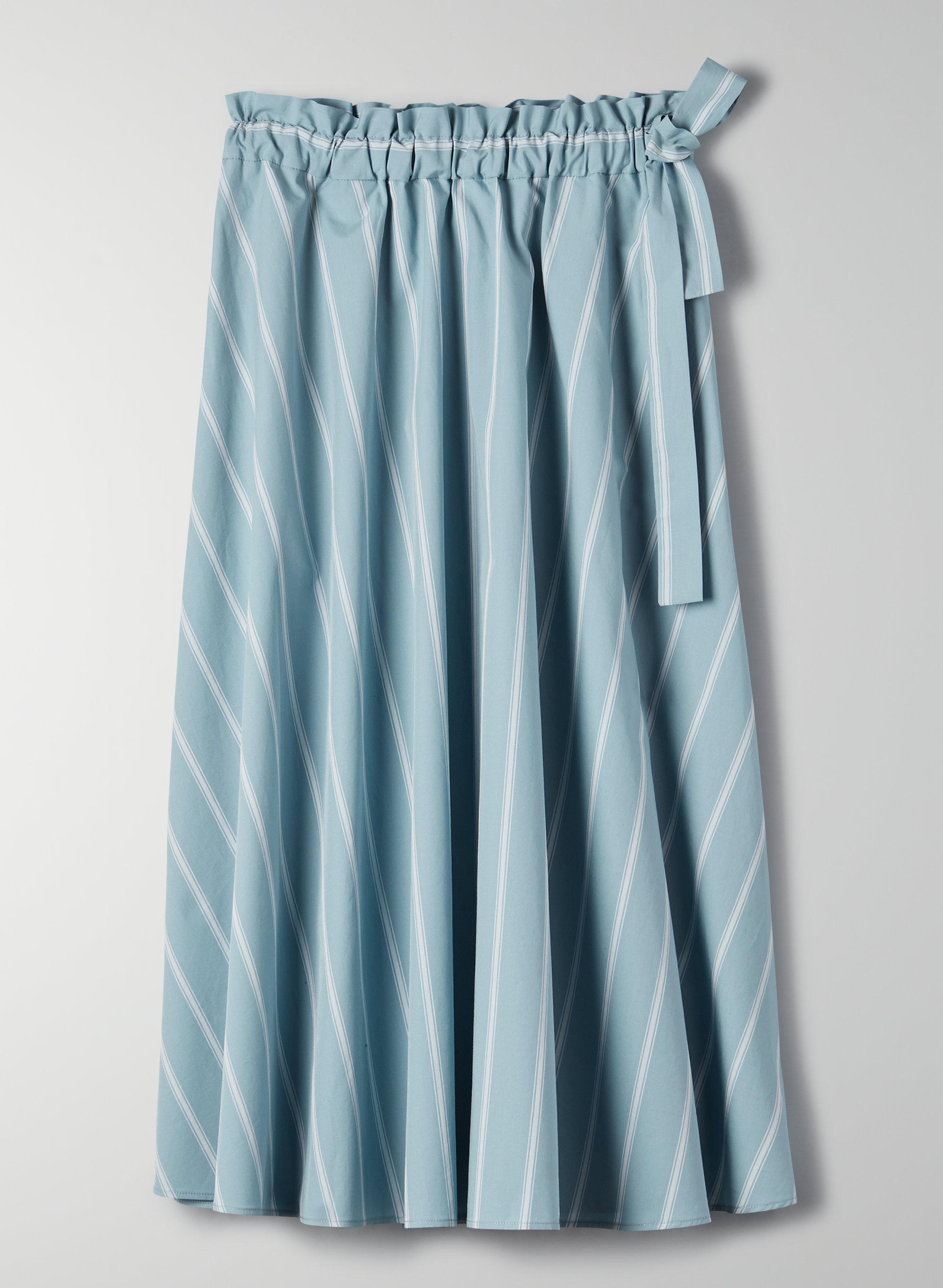 c0ec88916a CHAMBLY SKIRT - Striped, A-line midi skirt