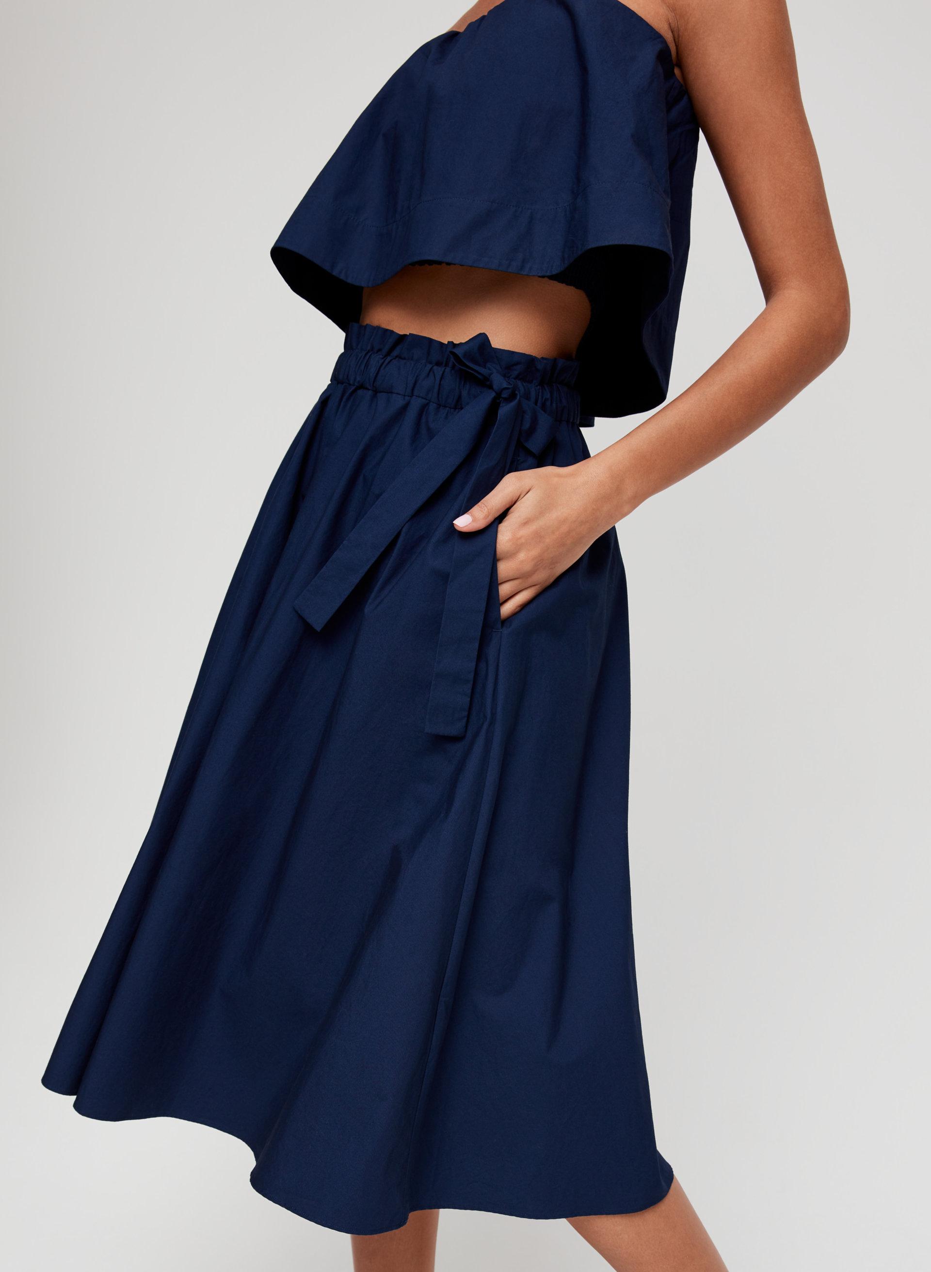 18b1b0d1f0 CHAMBLY SKIRT - Cotton A-line midi skirt