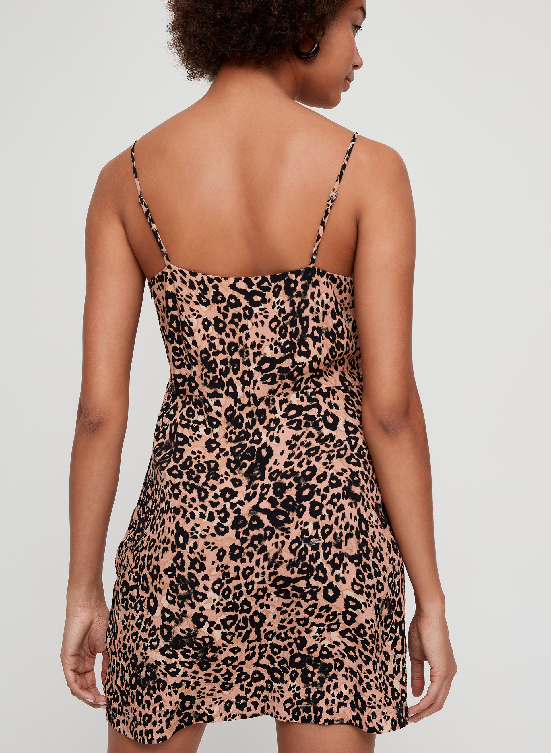 Leopard Mini Dress from the 90s